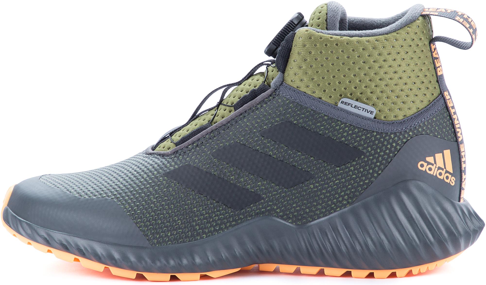 цена Adidas Кроссовки детские утепленные Adidas FortaTrail BOA, размер 35 онлайн в 2017 году