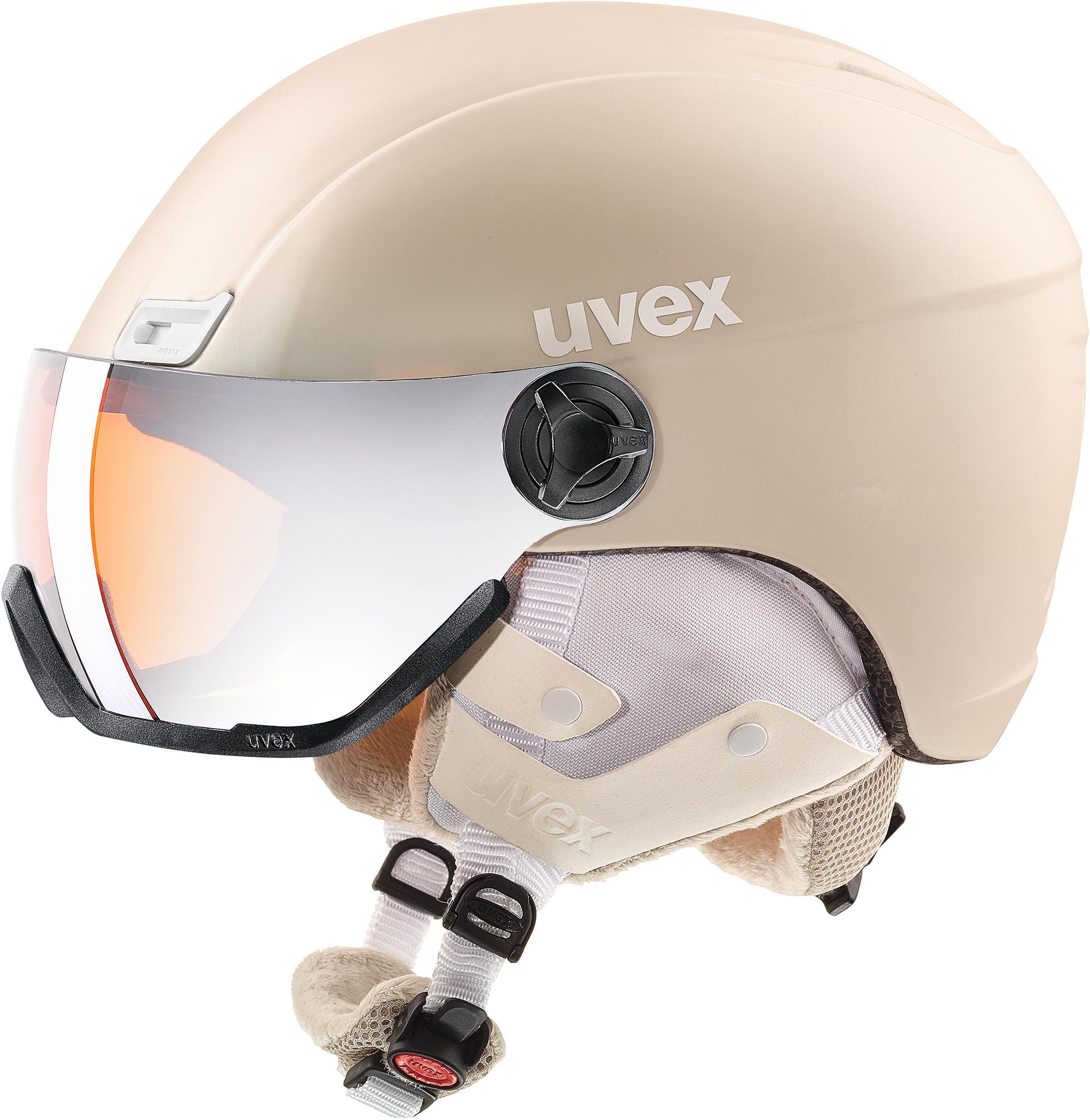 Uvex Шлем Uvex 400 Visor Style, размер 53-58