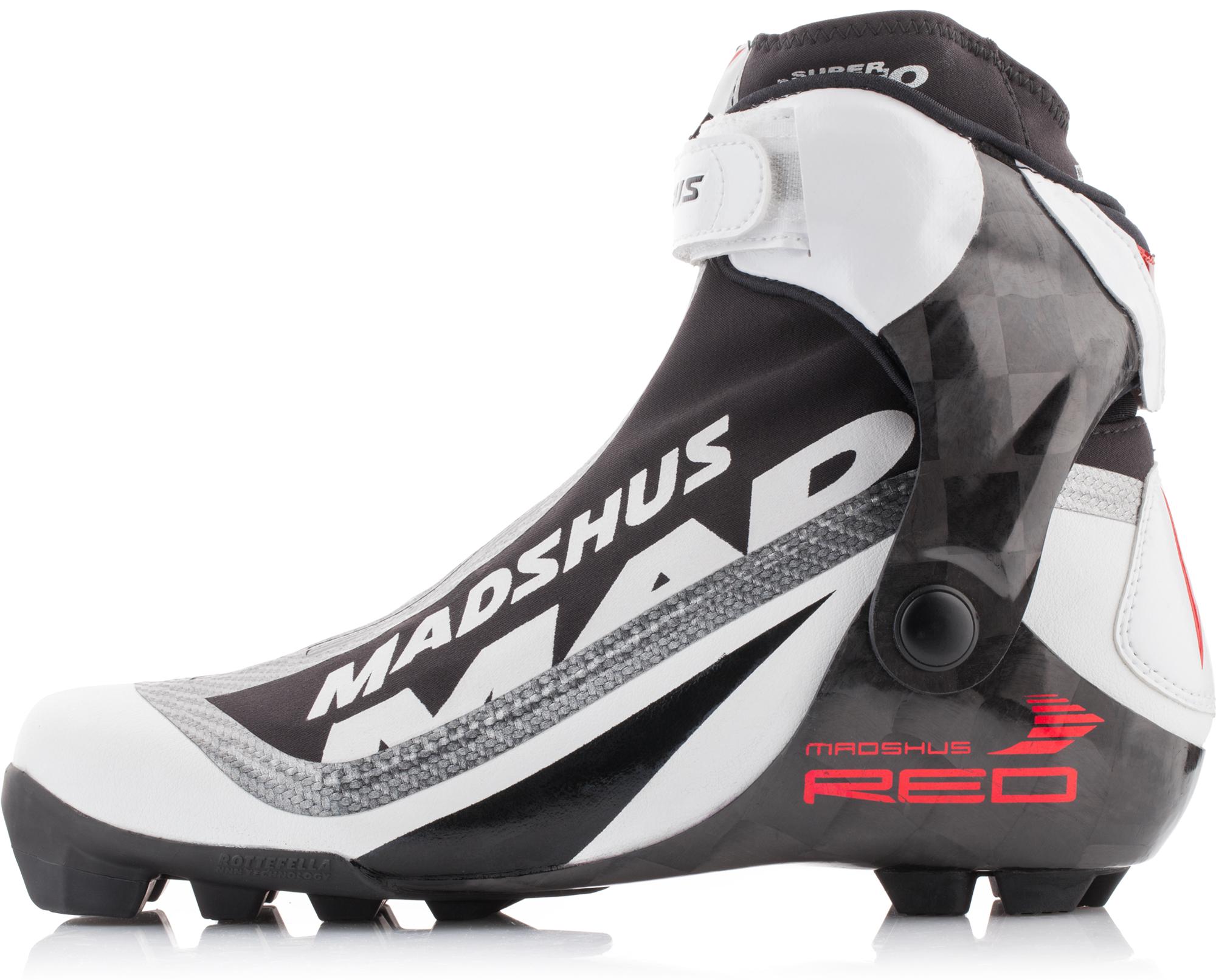 Madshus Ботинки для беговых лыж Madshus Super Nano Skate, размер 45 цена