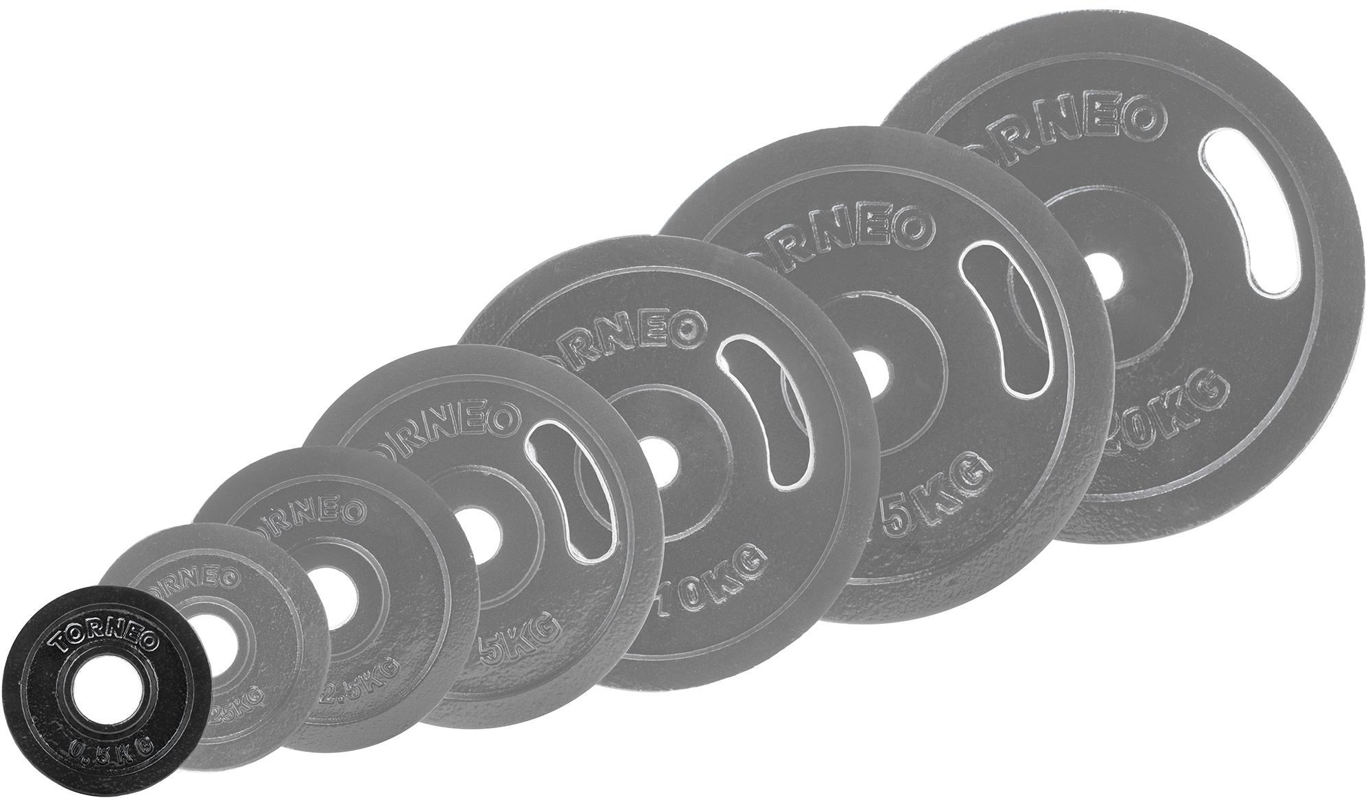 Torneo Блин Torneo стальной 0,5 кг