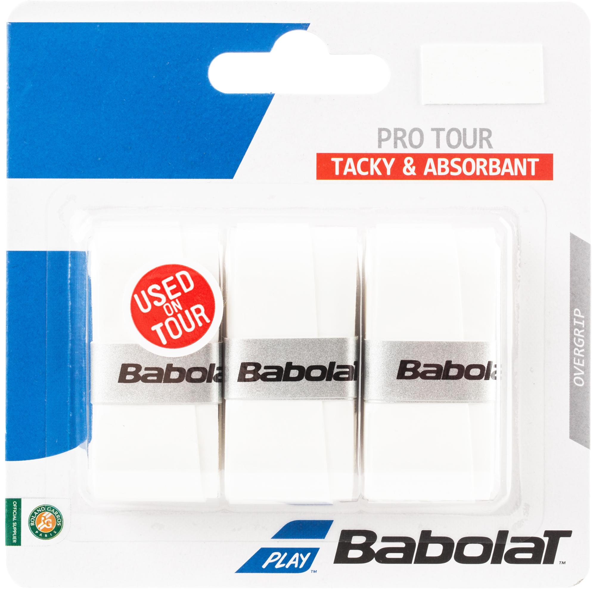 Babolat Намотка Babolat Pro Tour, размер Без размера larsen pro tour