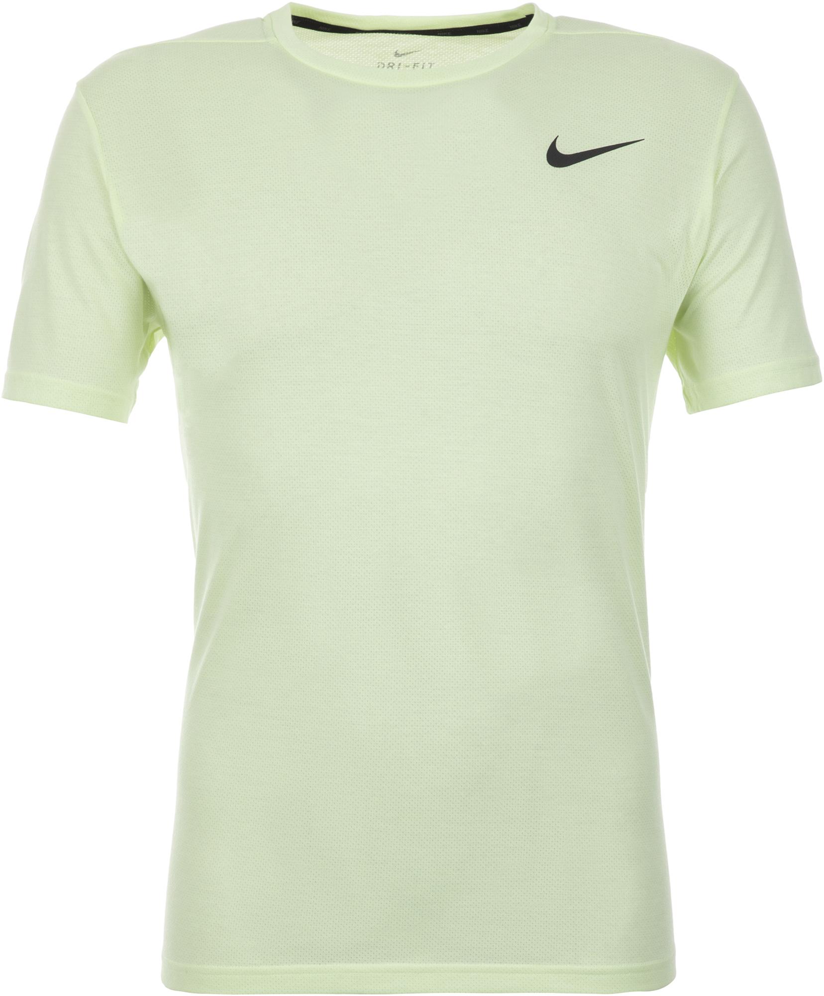 Nike Футболка мужская Nike Breathe, размер 52-54 цена 2017