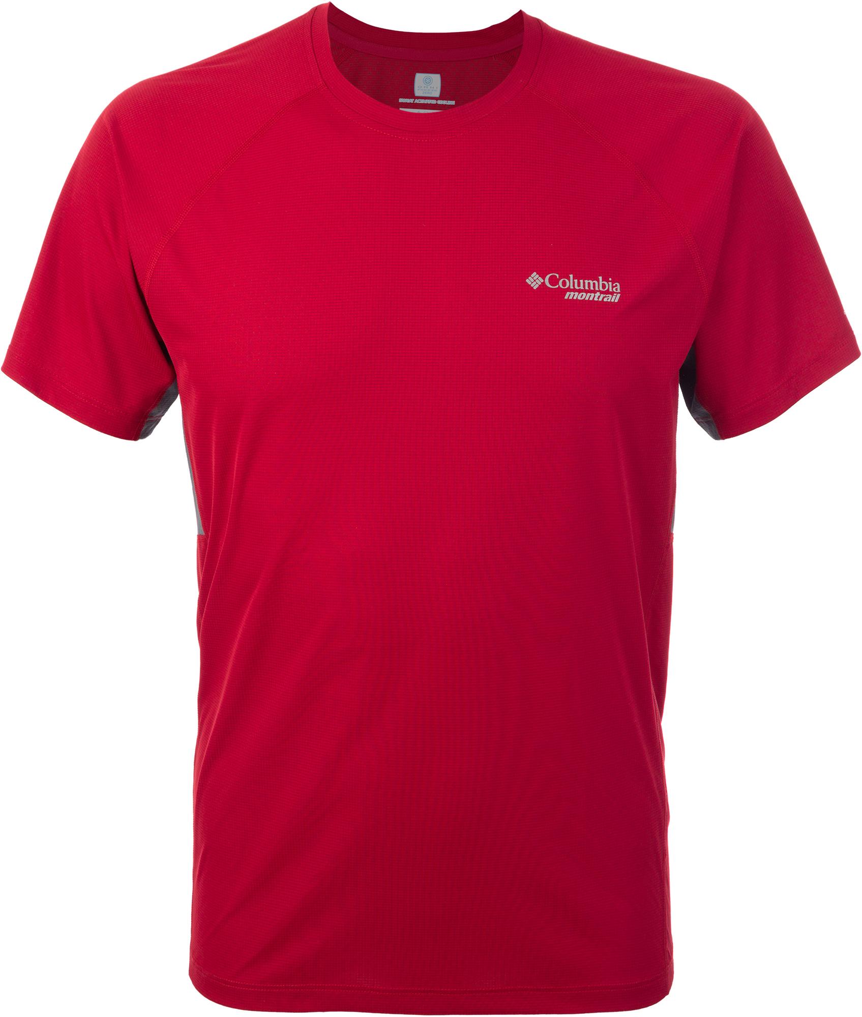 Columbia Футболка мужская Columbia Titan Ultra, размер 46-48 футболка женская oodji ultra цвет черный бирюзовый 14707001 17 46154 2973f размер m 46
