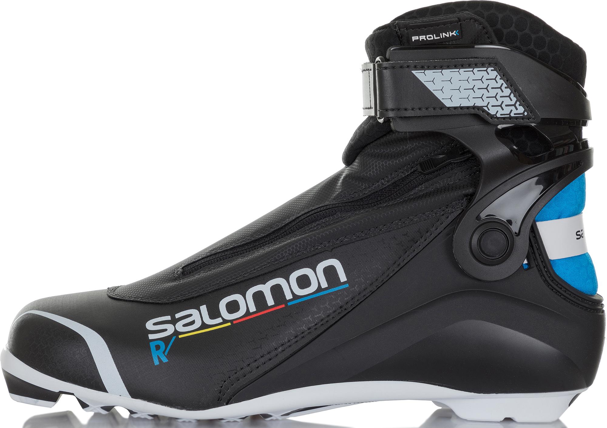 Salomon Ботинки для беговых лыж Salomon R/Prolink, размер 42,5 крепления salomon salomon для беговых лыж auto женские