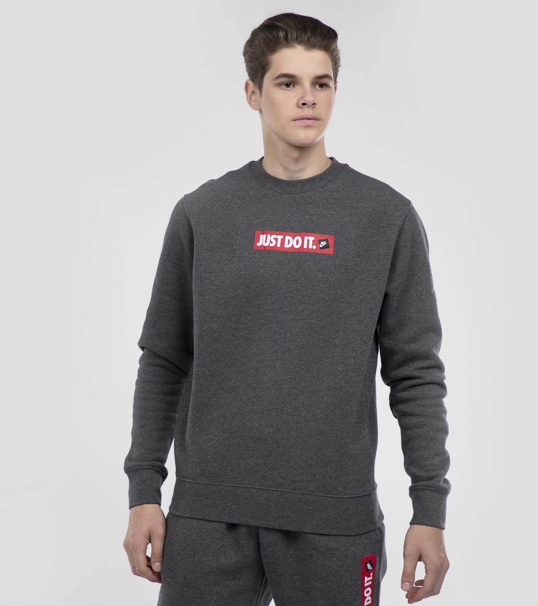 Фото Nike Свитшот мужской Nike JDI Crew, размер 52-54