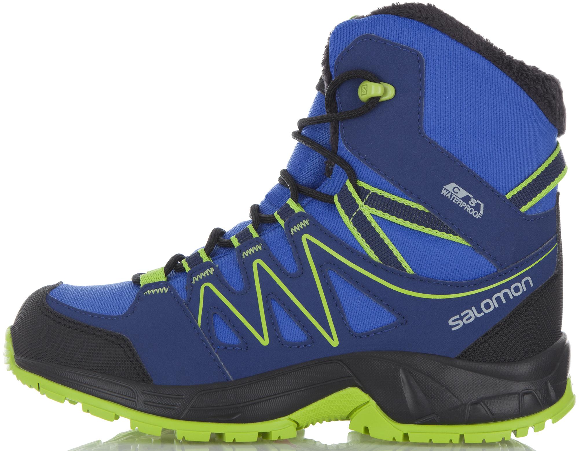 Salomon Ботинки утепленные для мальчиков Salomon Oki Winter зимние ботинки salomon купить