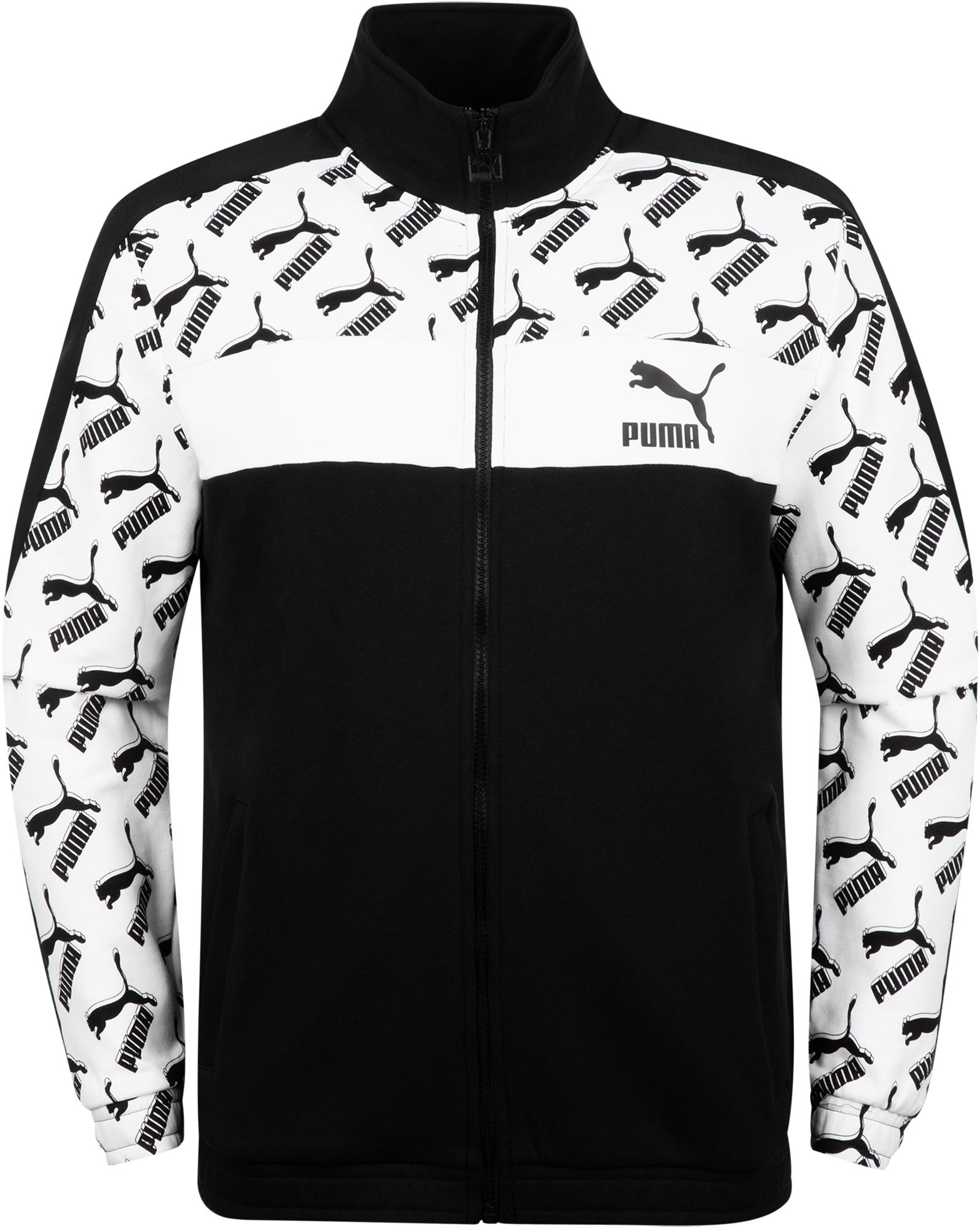 цена Puma Толстовка мужская Puma AOP T7 Track, размер 52-54 онлайн в 2017 году