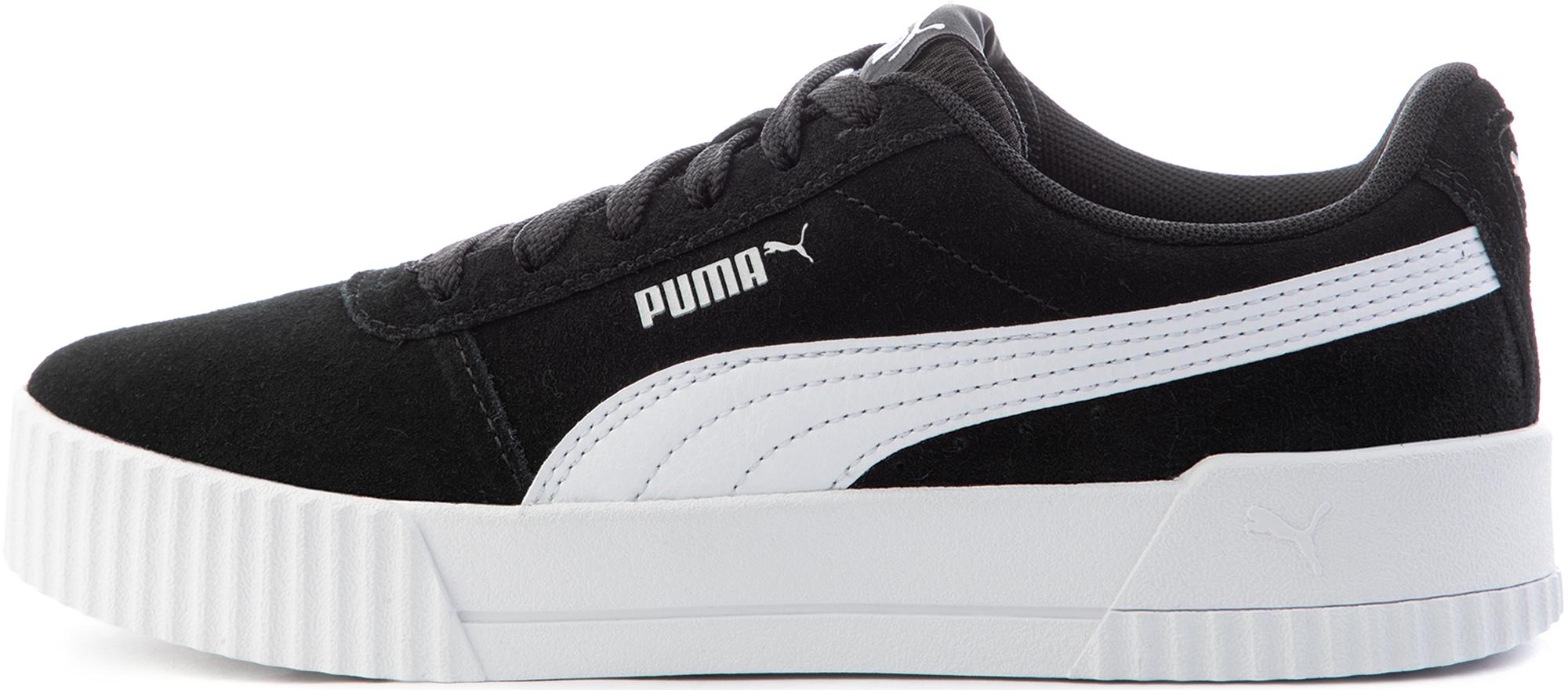 Puma Кеды для девочек Puma Carina Jr, размер 37,5