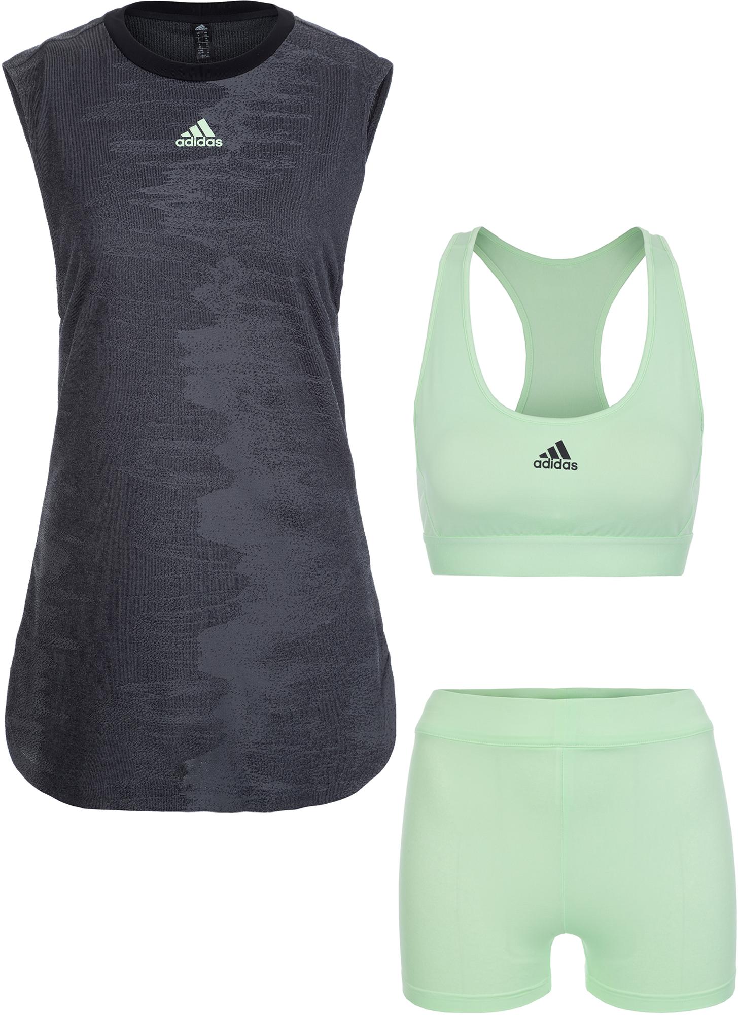 цены Adidas Платье женское Adidas New York, размер 46-48