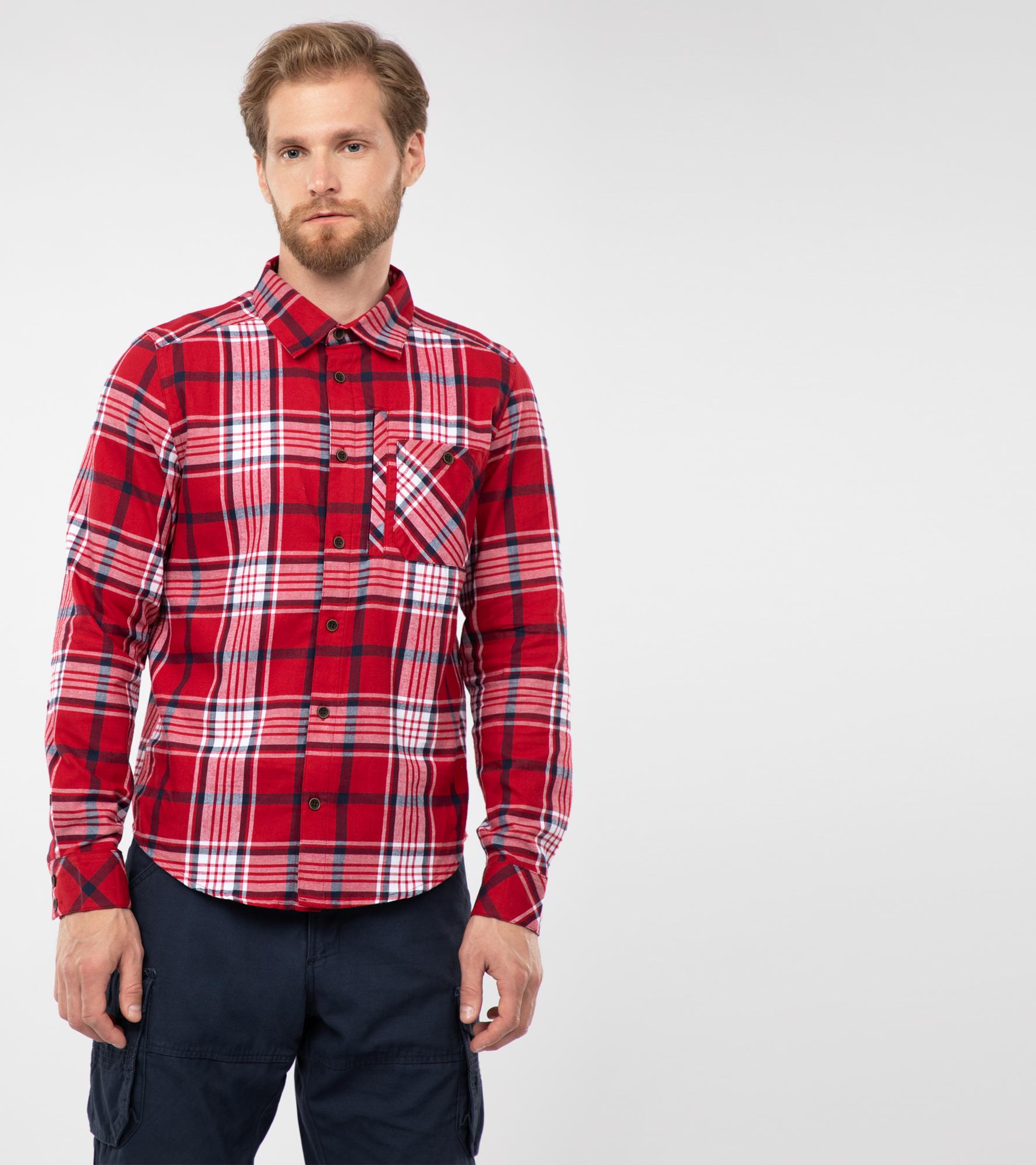 цена Outventure Рубашка мужская Outventure, размер 58 онлайн в 2017 году