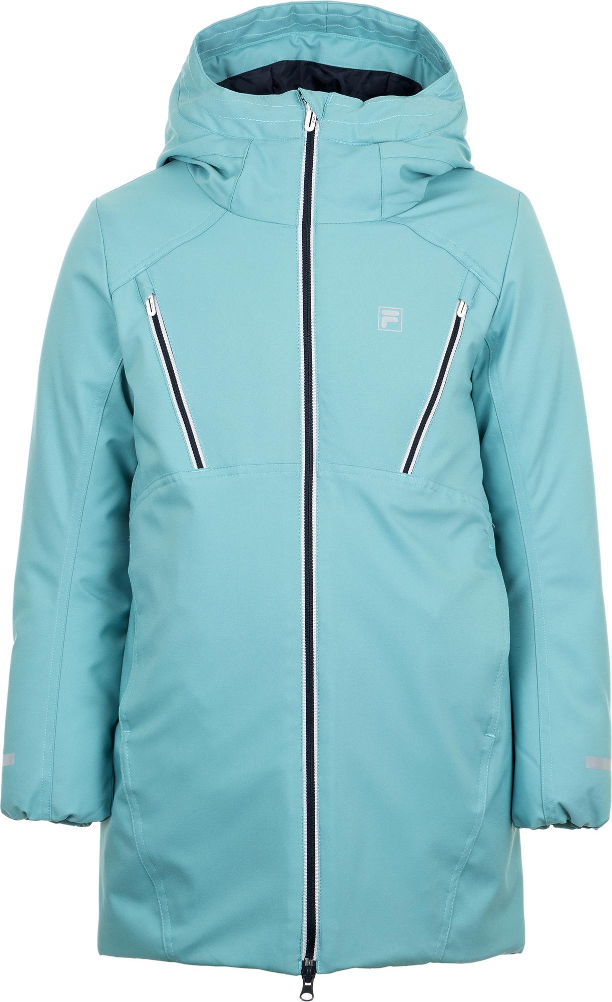 Fila Куртка утепленная для девочек Fila, размер 140