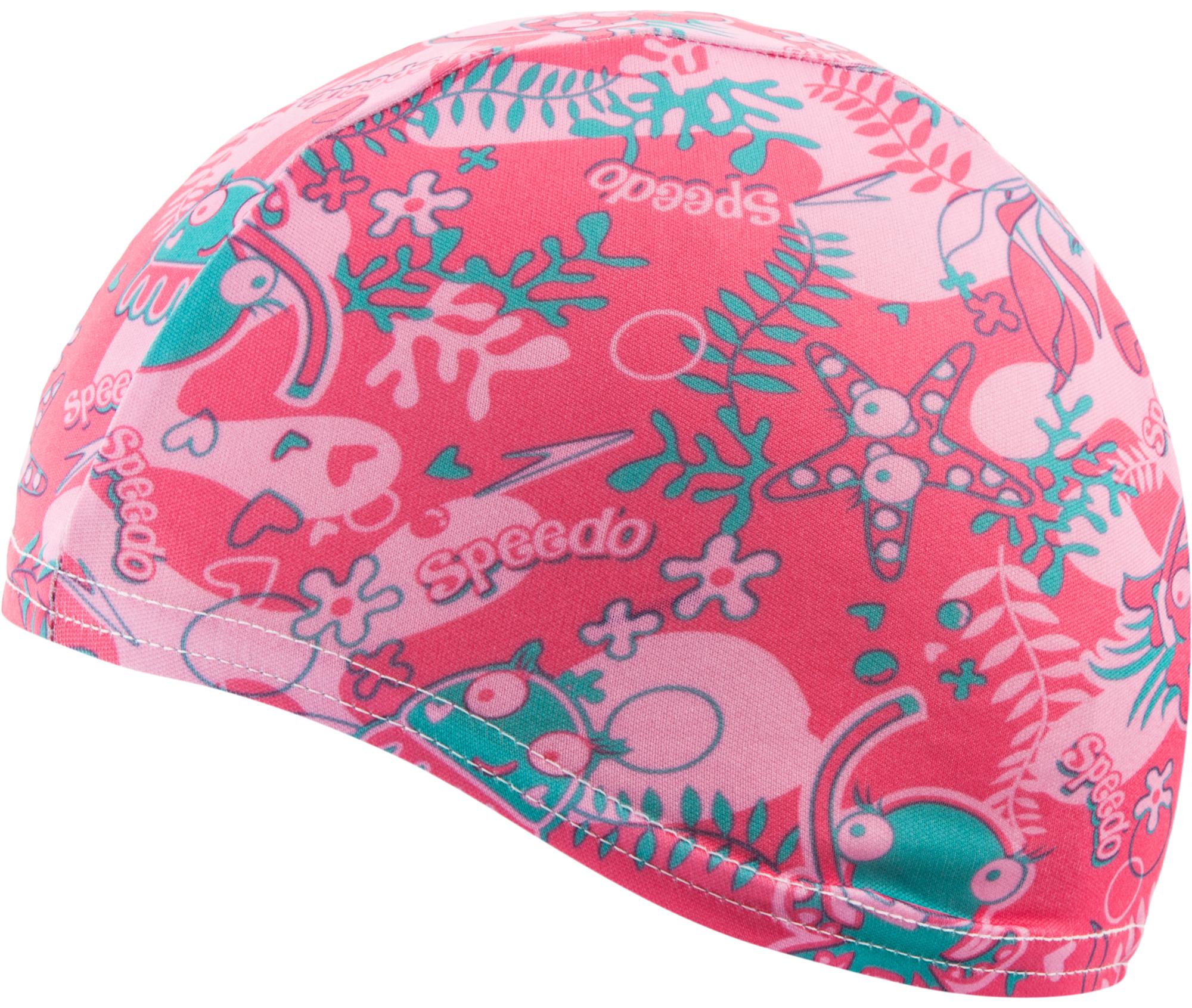 Speedo Шапочка для плавания детская Speedo Sea Squad шапочка спортивная детская
