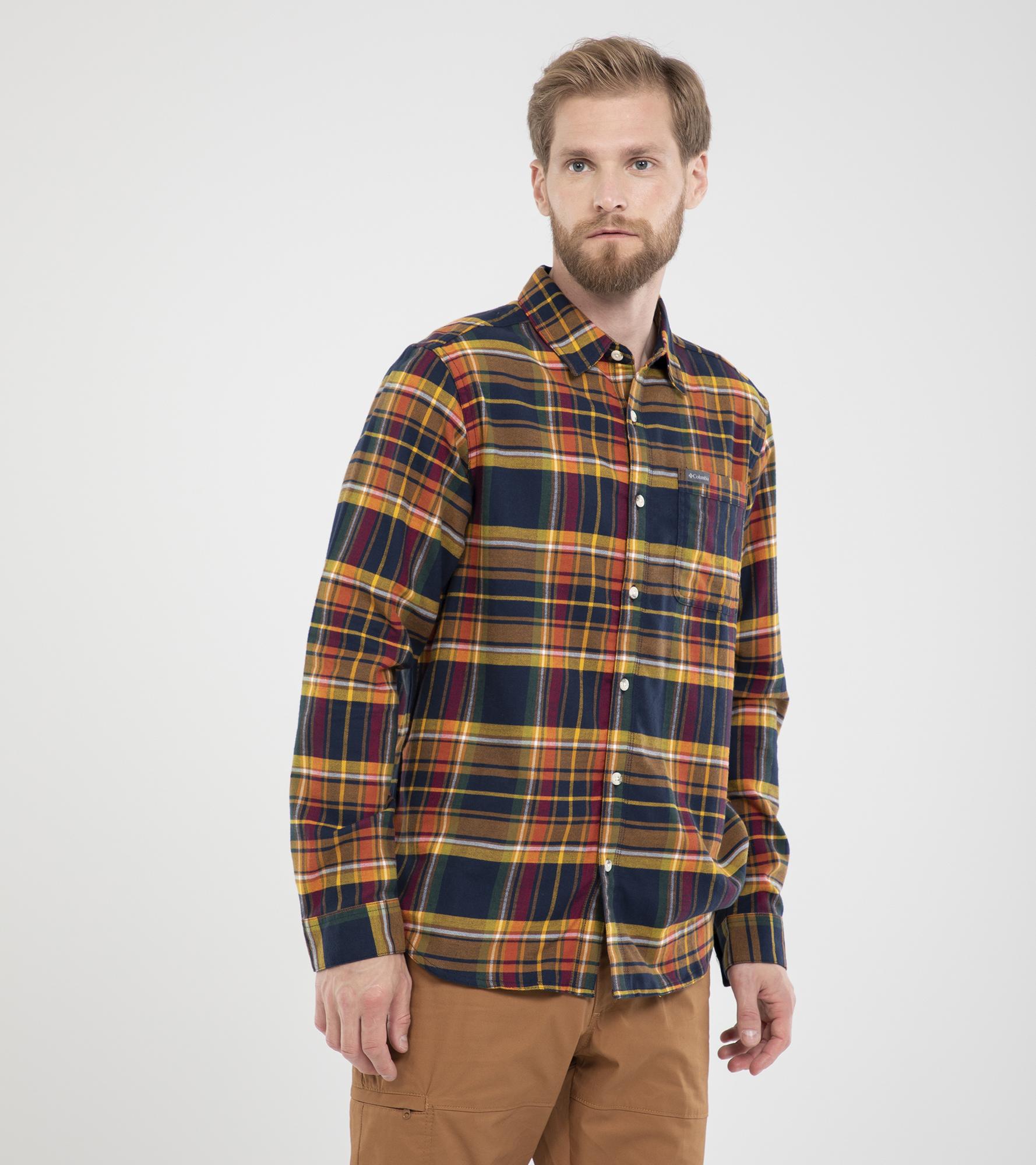цена Columbia Рубашка мужская Columbia Boulder Ridge, размер 56-58 онлайн в 2017 году