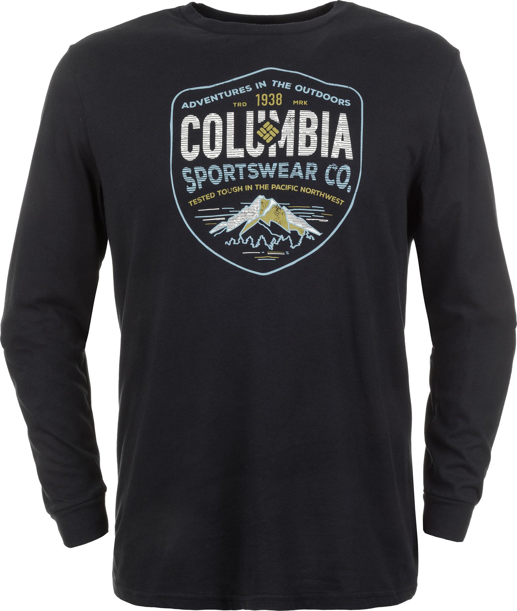 Columbia Футболка с длинным рукавом мужская Columbia Rugged Shield, размер 48-50