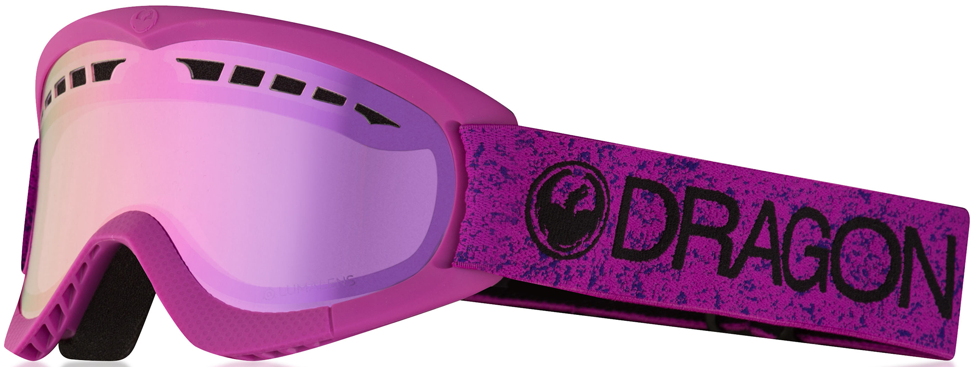 маска для сноуборда dragon d2 murdered dark smoke Dragon Маска Dragon Dxs Lightpink - Lumalens