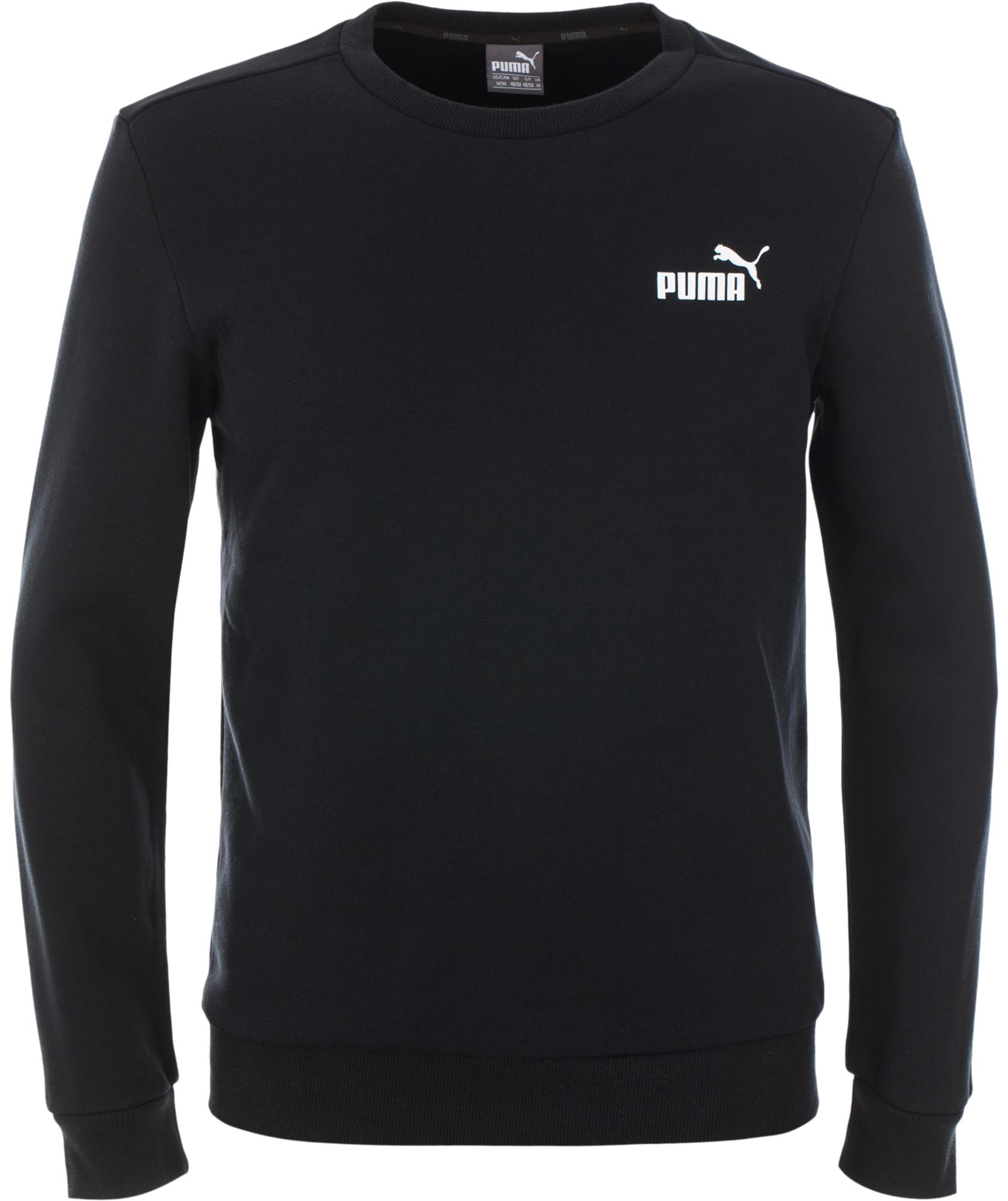 Puma Джемпер мужской Puma Ess Logo Crew, размер 52-54 стоимость