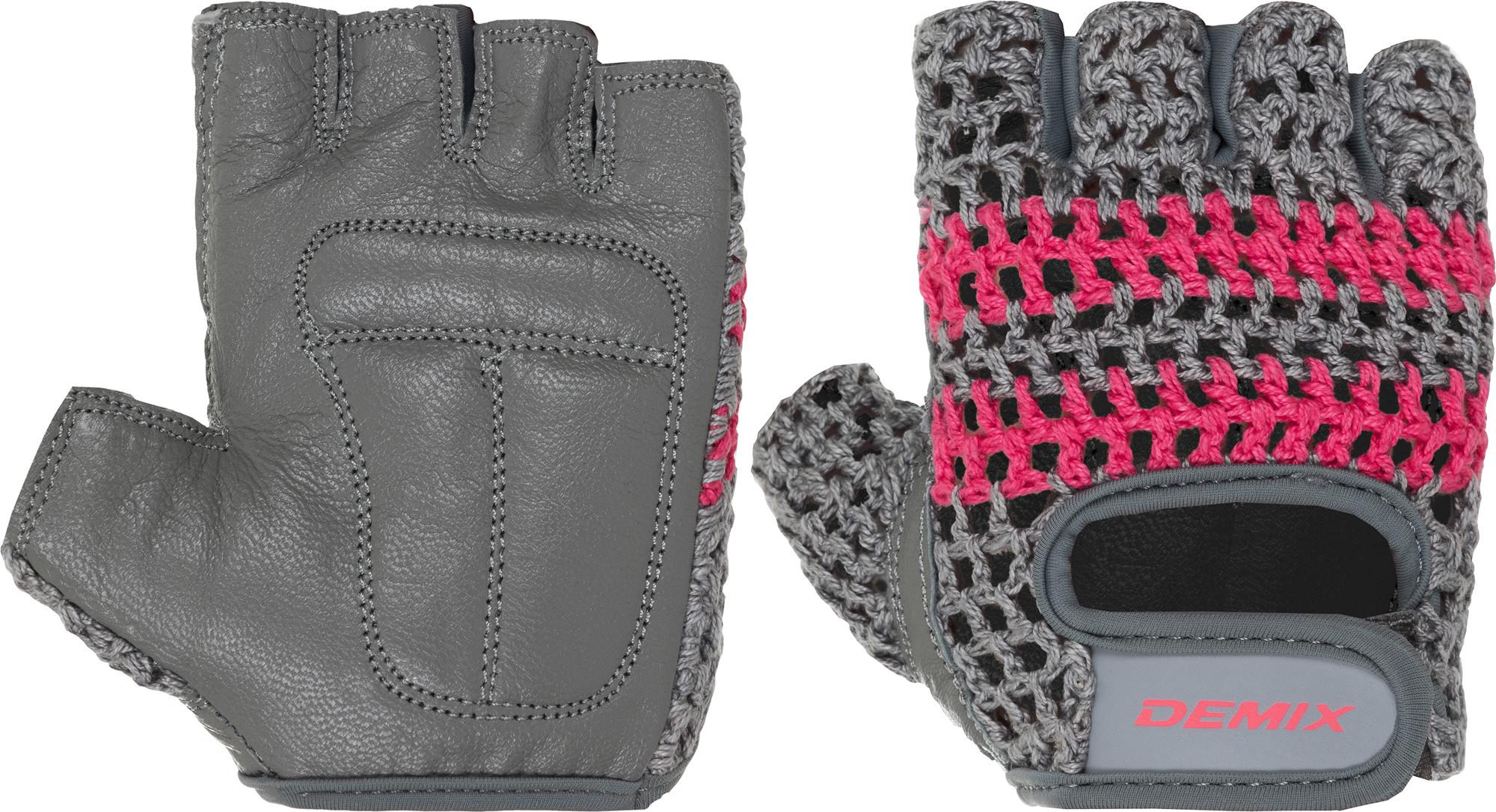 Demix Перчатки для фитнеса Demix, размер 5,5