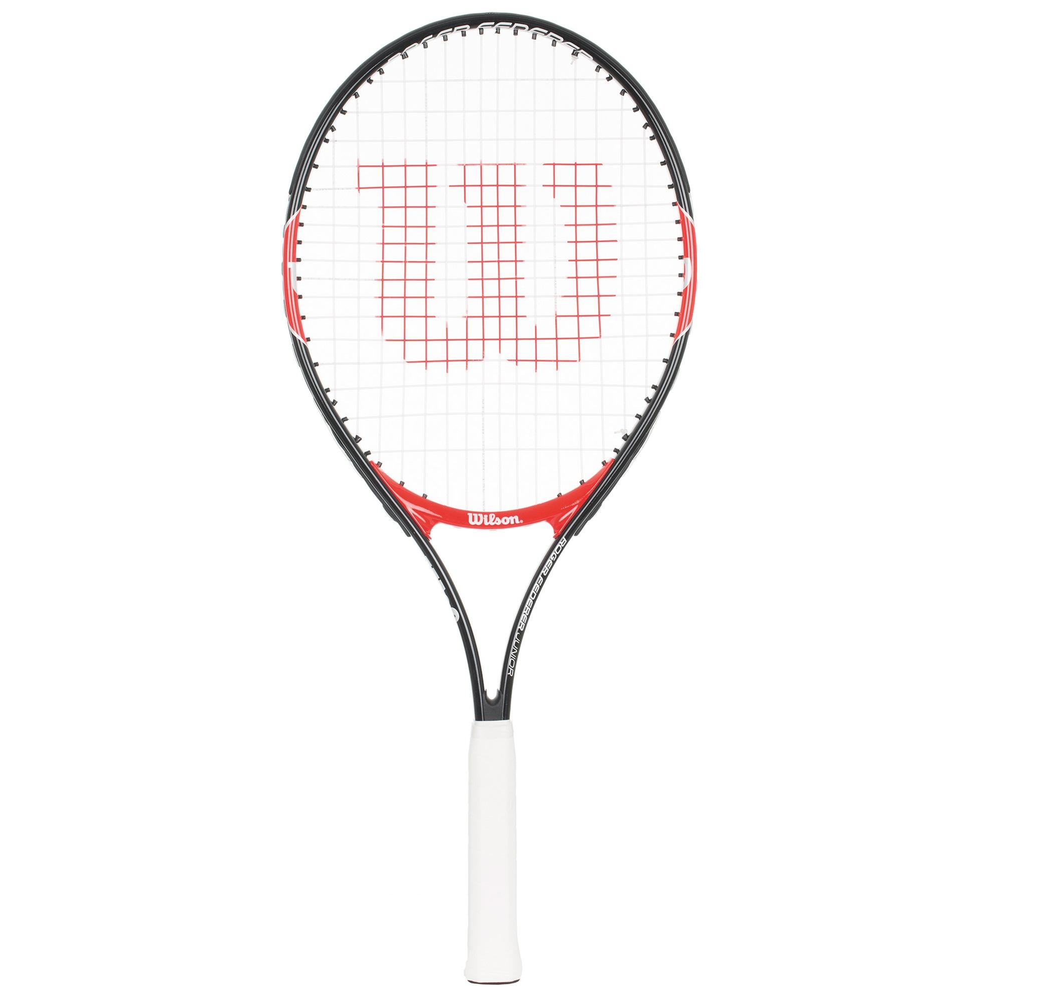 Wilson Ракетка для большого тенниса детская Wilson Roger Federer 25 сетки для тенниса большого
