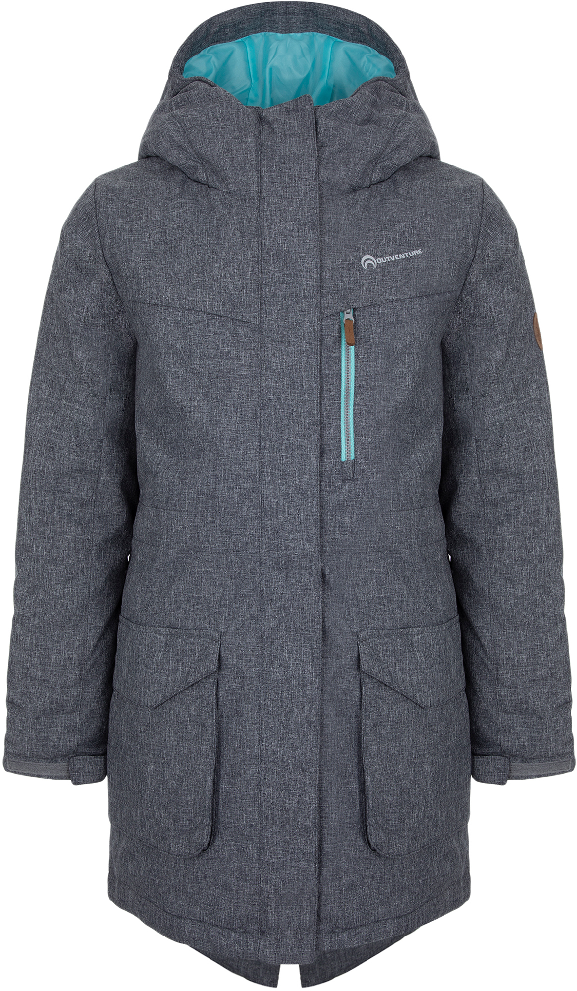 Outventure Куртка утепленная для девочек Outventure, размер 164 куртка для девочек atplay цвет серый 1jk803 размер 86