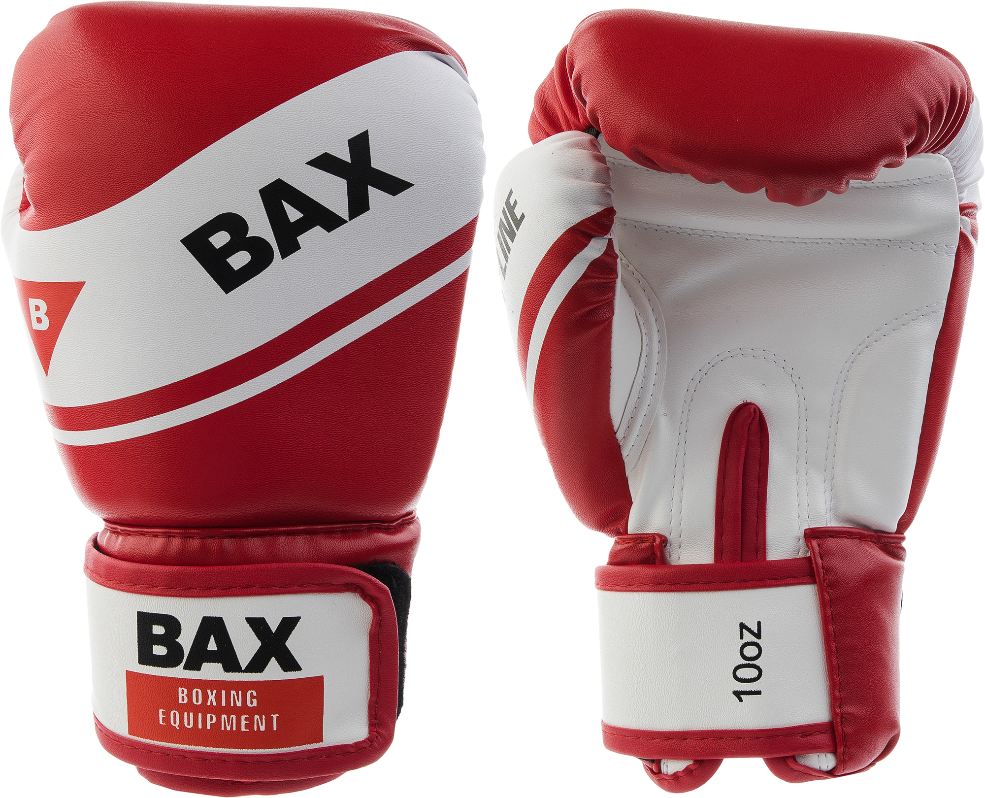 Bax Перчатки боксерские BAX, размер 10 oz