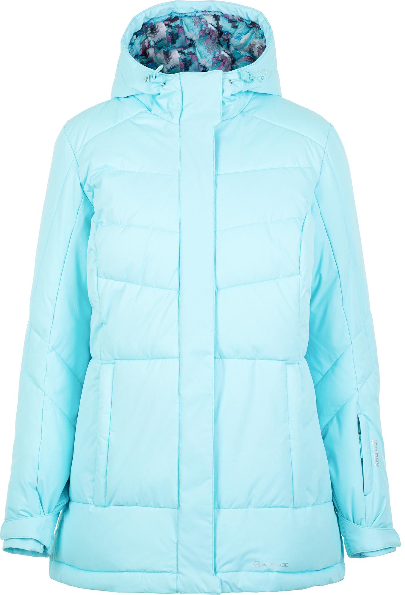 Glissade Куртка утепленная женская Glissade, размер 56 цены онлайн