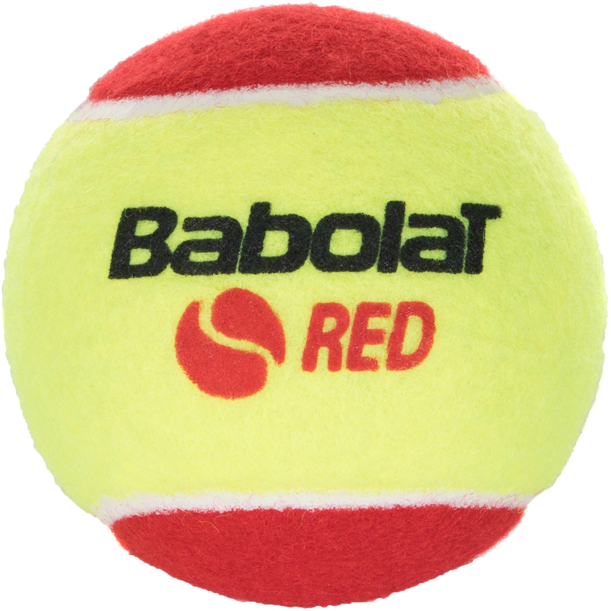 Babolat Набор мячей для большого тенниса Babolat Red Felt X3, размер Без размера babolat футболка мужская babolat perf crew neck tee размер 50