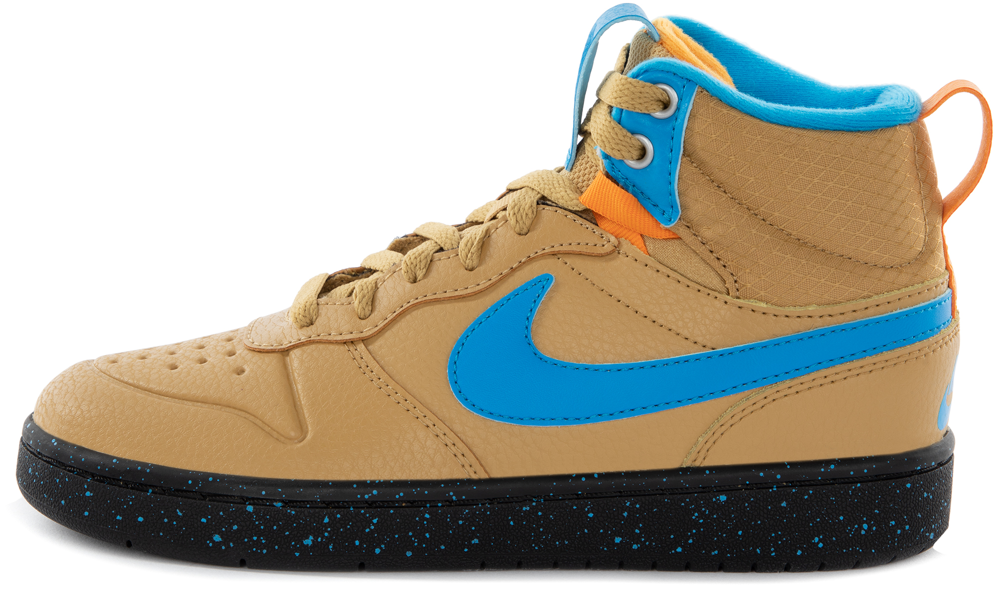 Nike Кеды детские Nike Court Borough Mid 2 Boot, размер 34.5 кеды nike nike ni464amdnak9