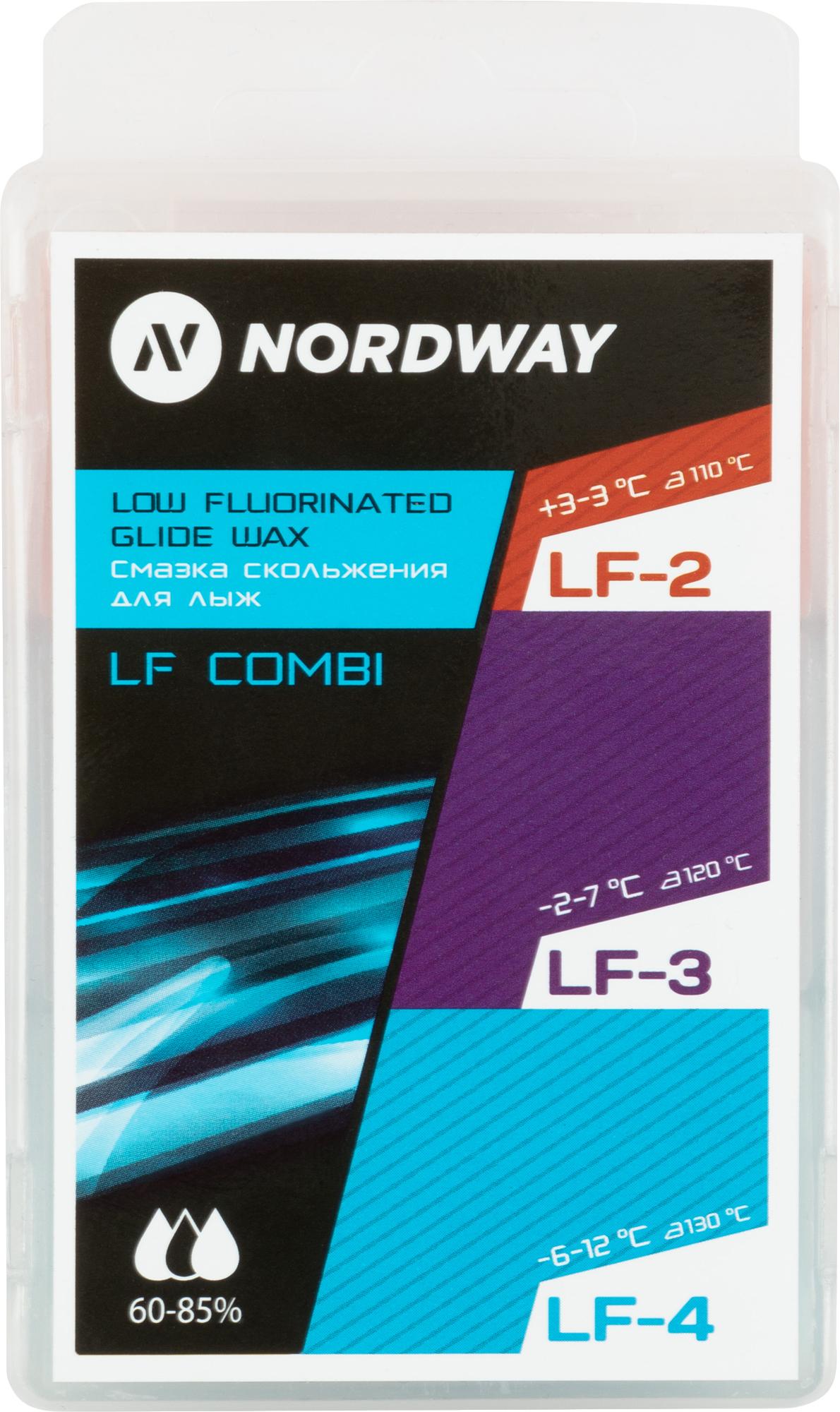 Nordway Набор лыжный: мазь для лыж Nordway, 3 шт.