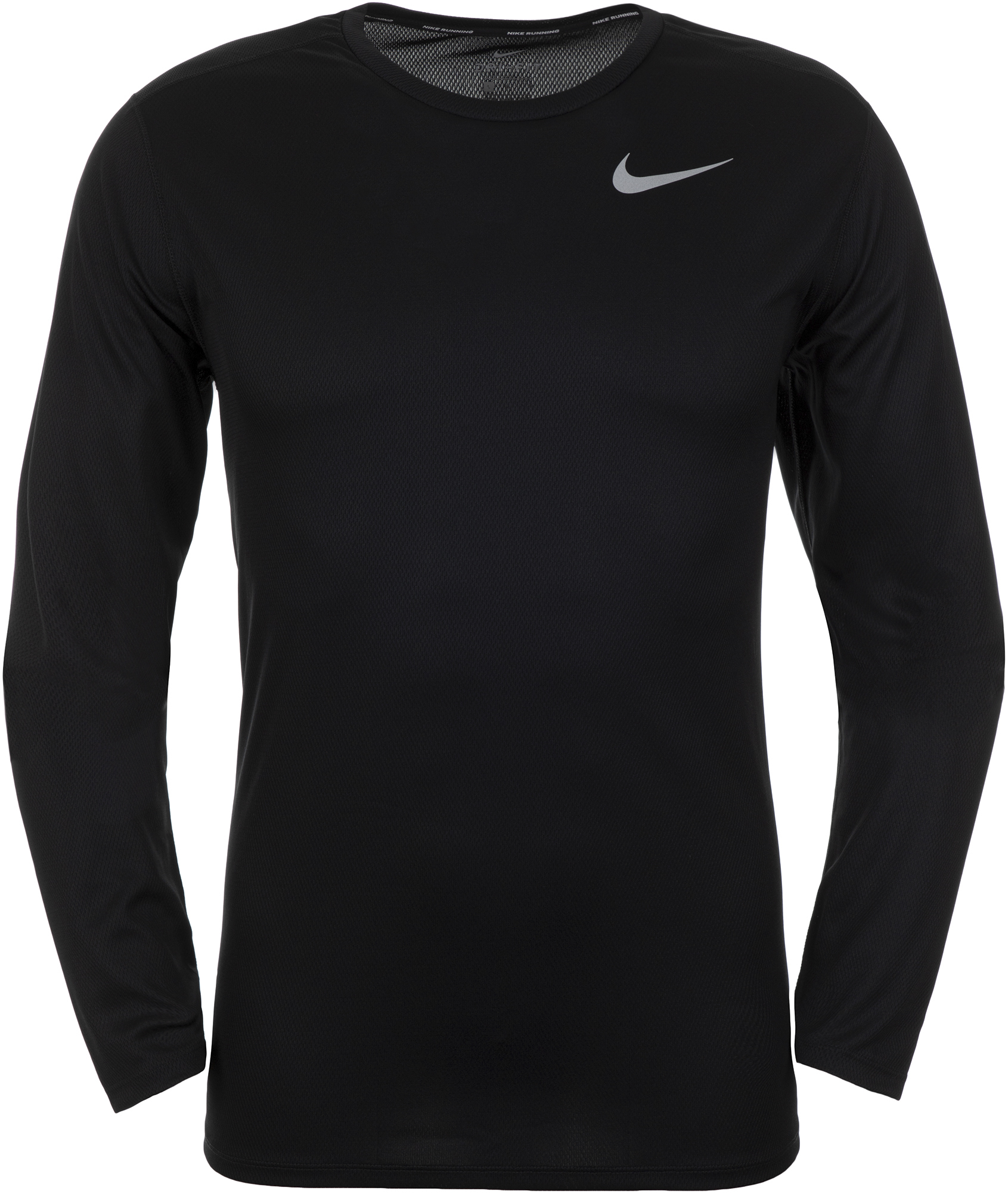 Nike Футболка с длинным рукавом мужская Nike Breathe, размер 52-54 все цены