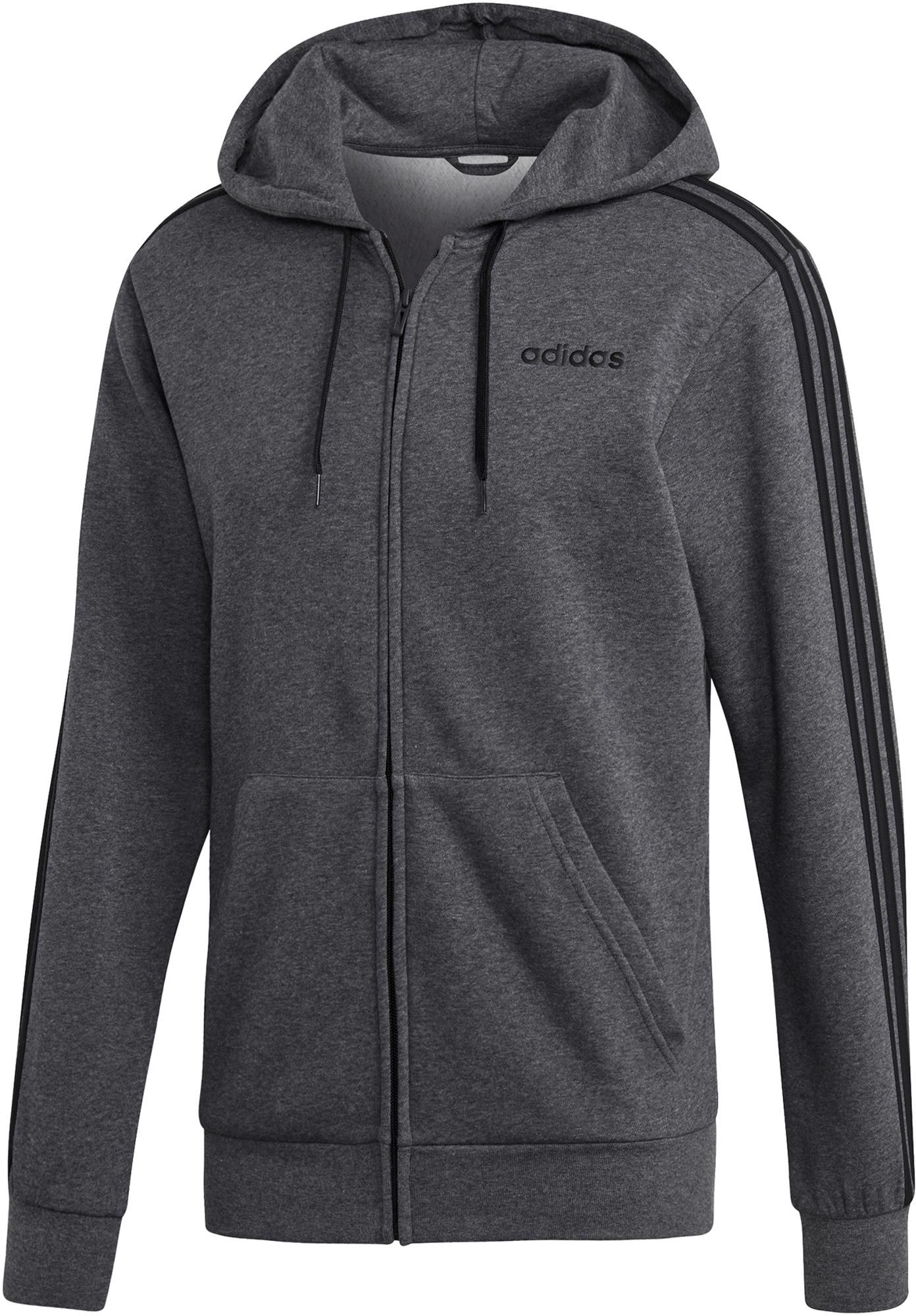Adidas Толстовка мужская adidas Essentials 3-Stripes, размер 44-46 adidas легинсы для девочек adidas essentials 3 stripes размер 128