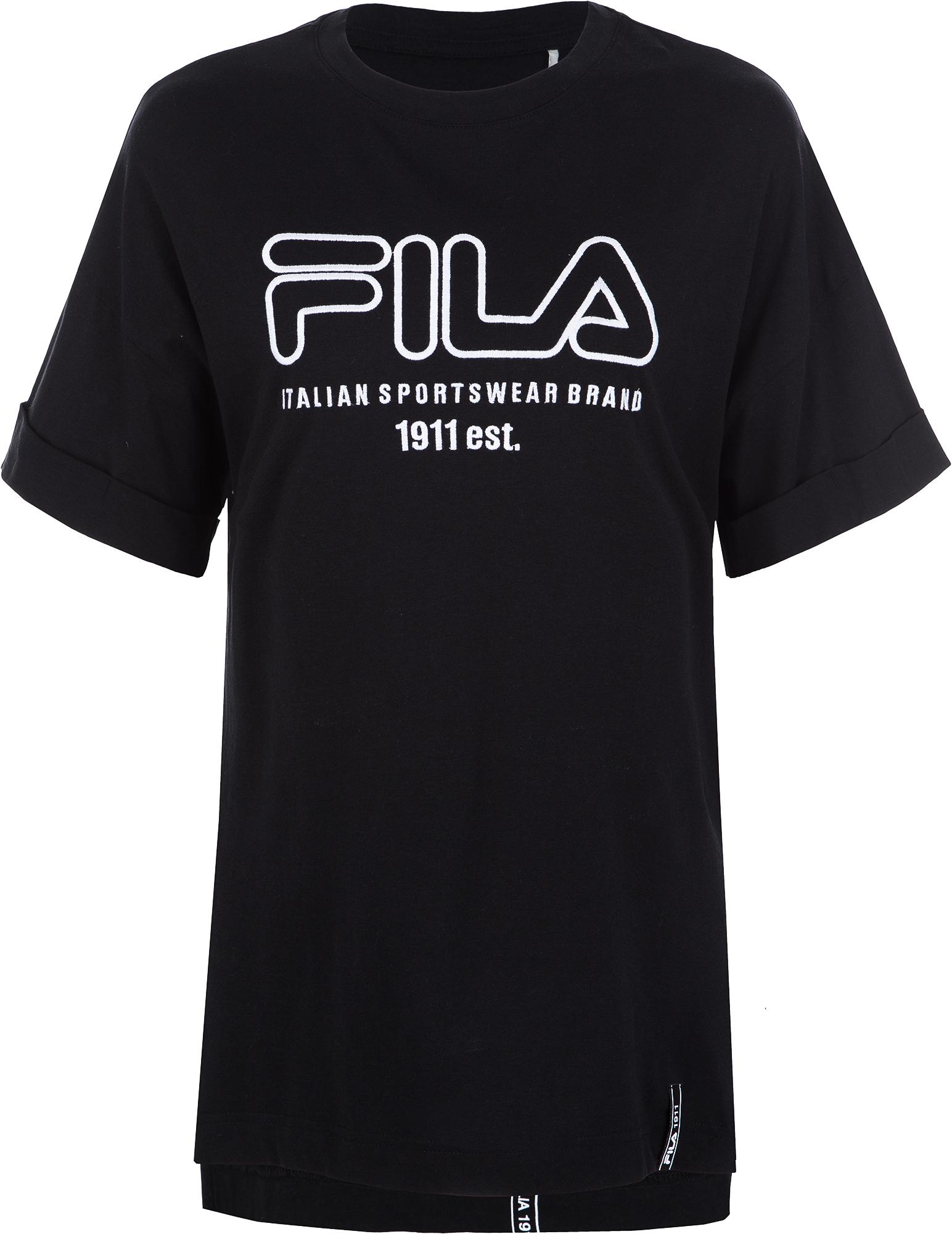 Fila Футболка женская Fila, размер 46 fila футболка с длинным рукавом женская fila размер 52