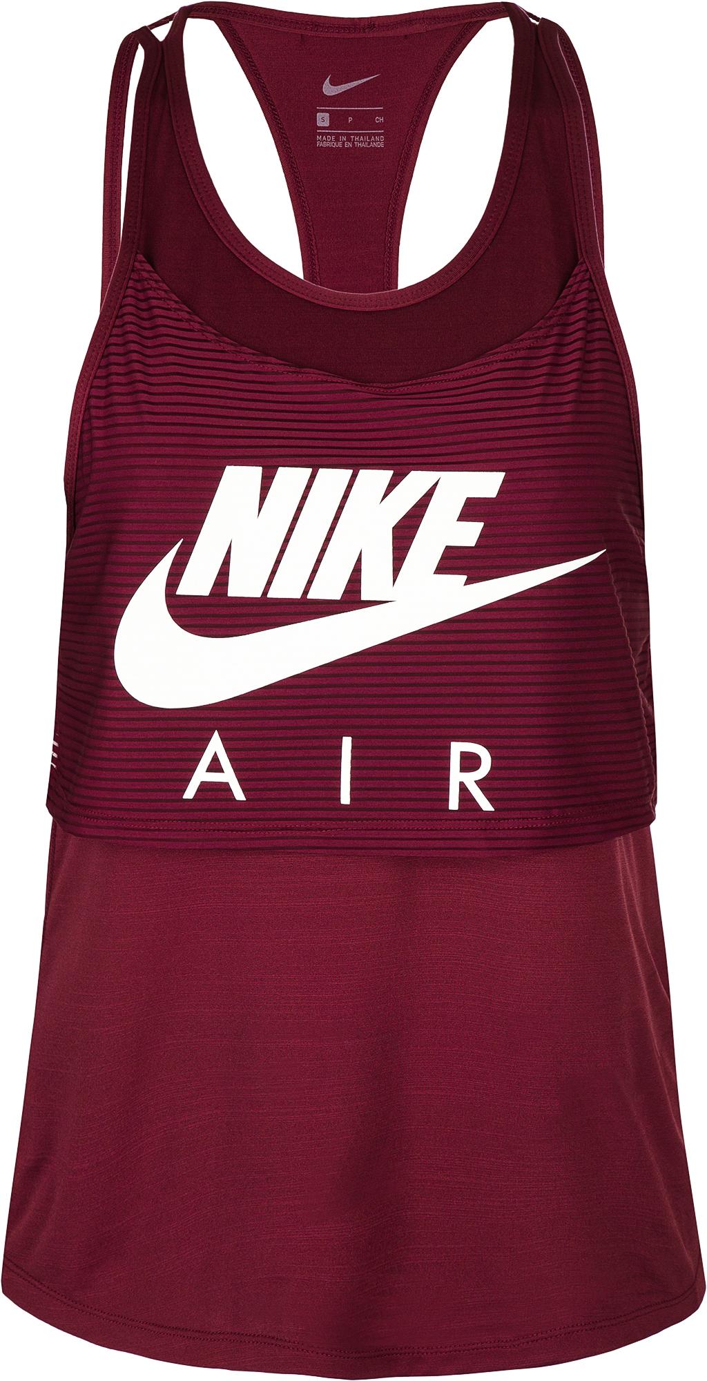 Nike Майка женская Nike Air, размер 46-48 nike майка женская nike court slam
