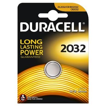 Duracell Батарейка литиевая CR2032 BL1