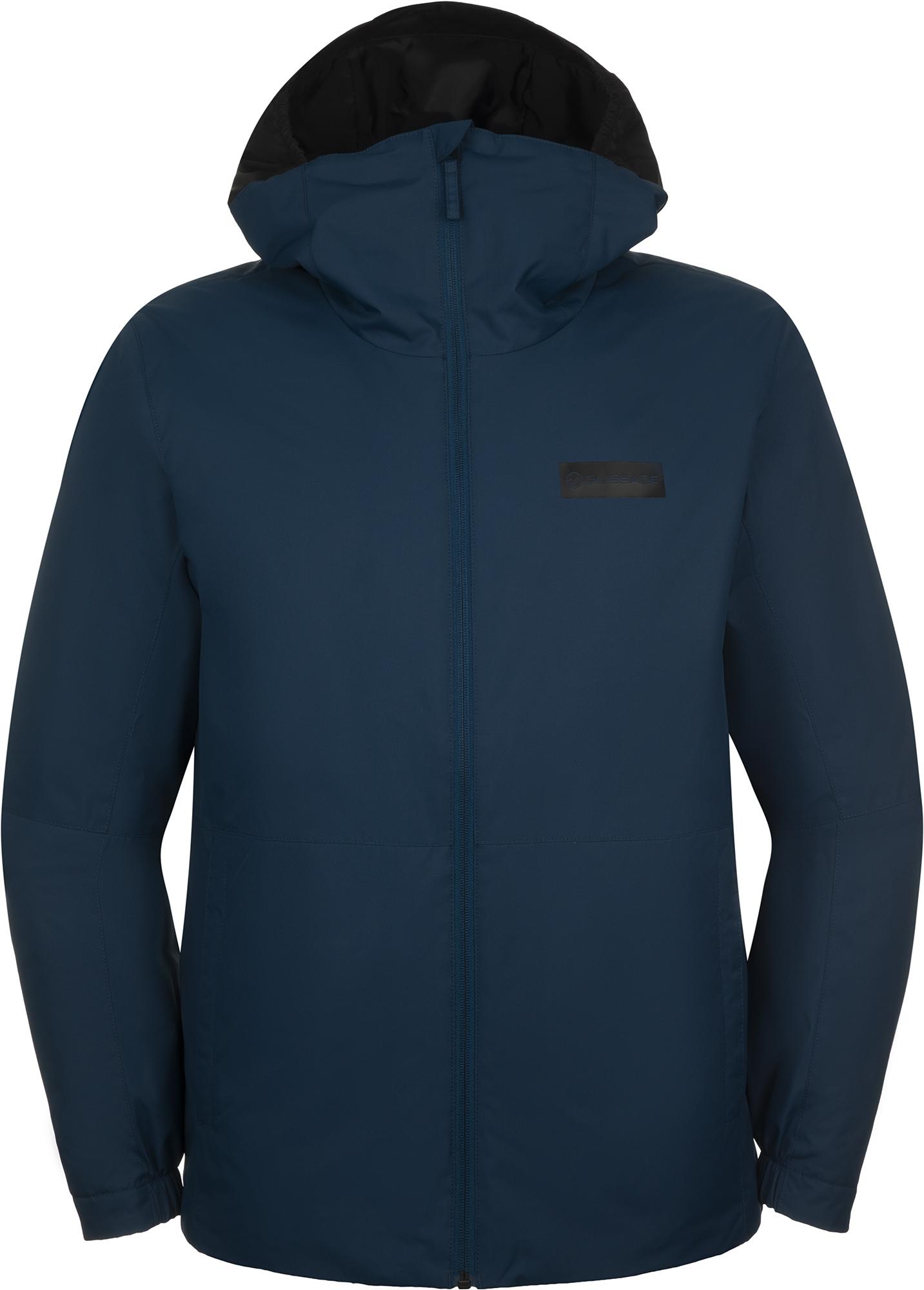 Glissade Куртка утепленная мужская Glissade, размер 56-58 ручка дверная с раздельной квадратной накладкой фз 06 матовый никель