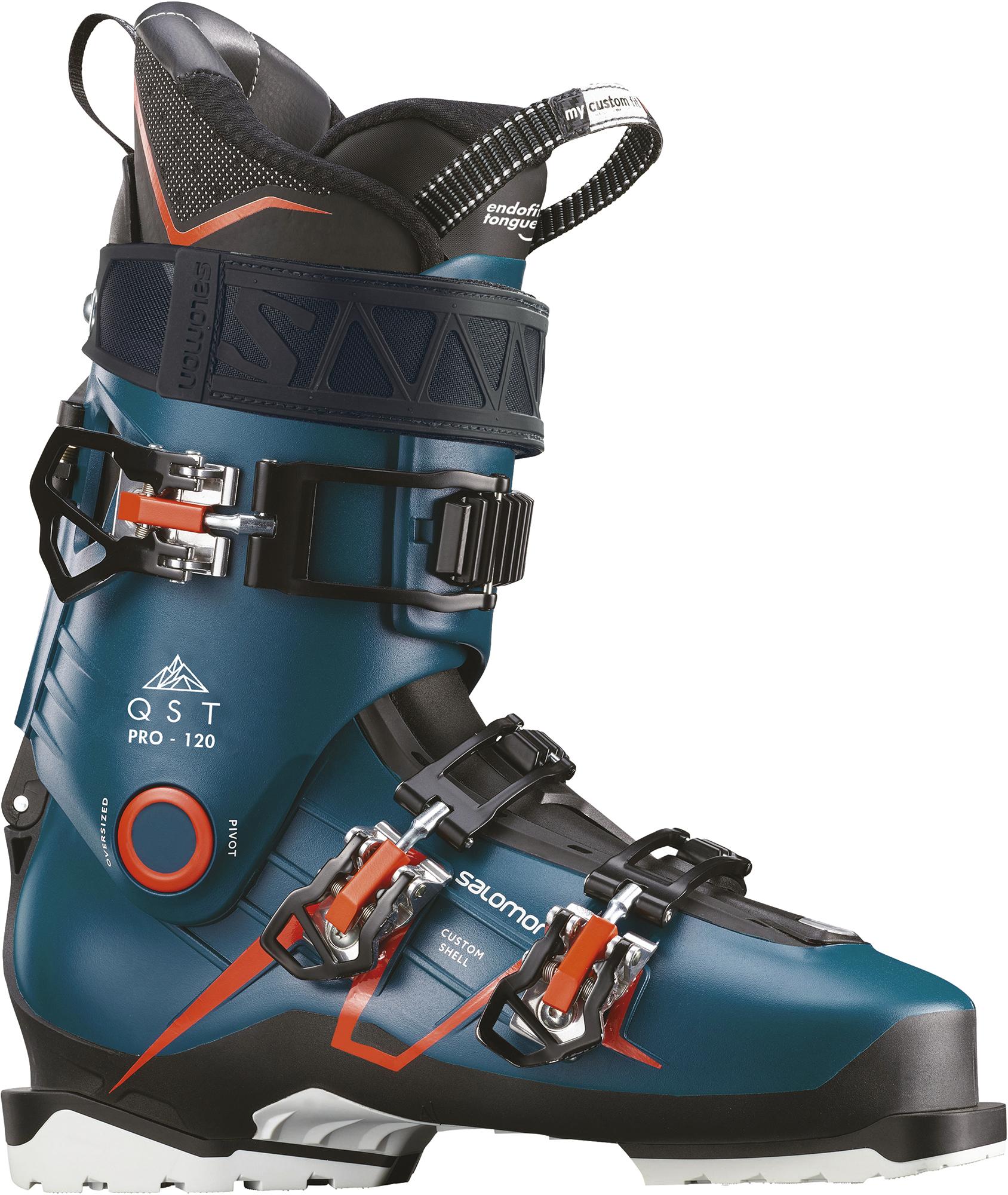 цена Salomon Ботинки горнолыжные Salomon QST PRO 120, размер 44 онлайн в 2017 году