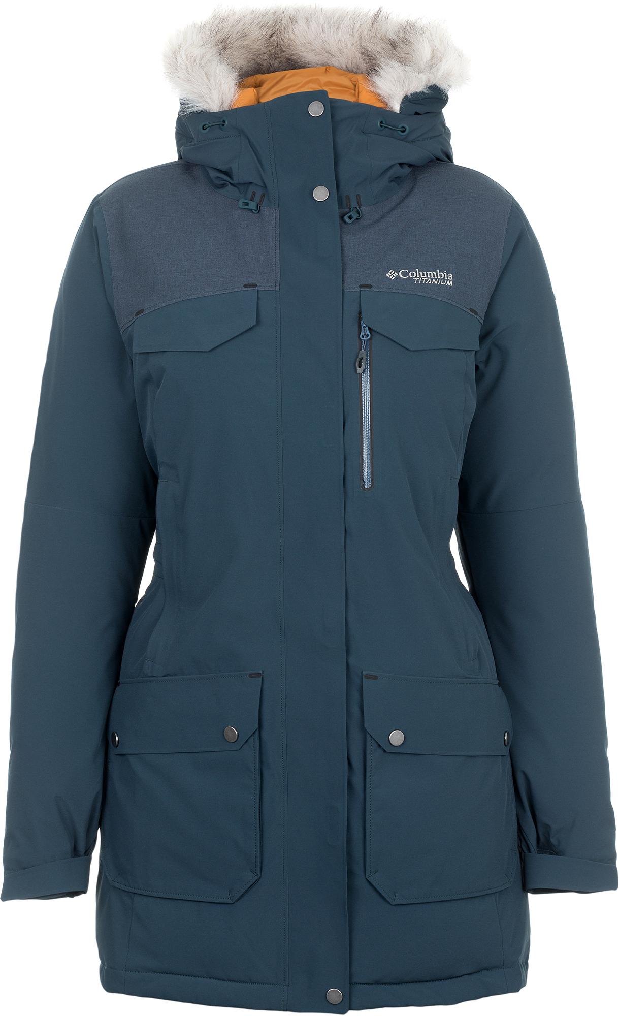 Columbia Куртка пуховая женская Columbia Titan Pass 780 TurboDown, размер 46 pajar куртка пуховая женская cougar xl jet black