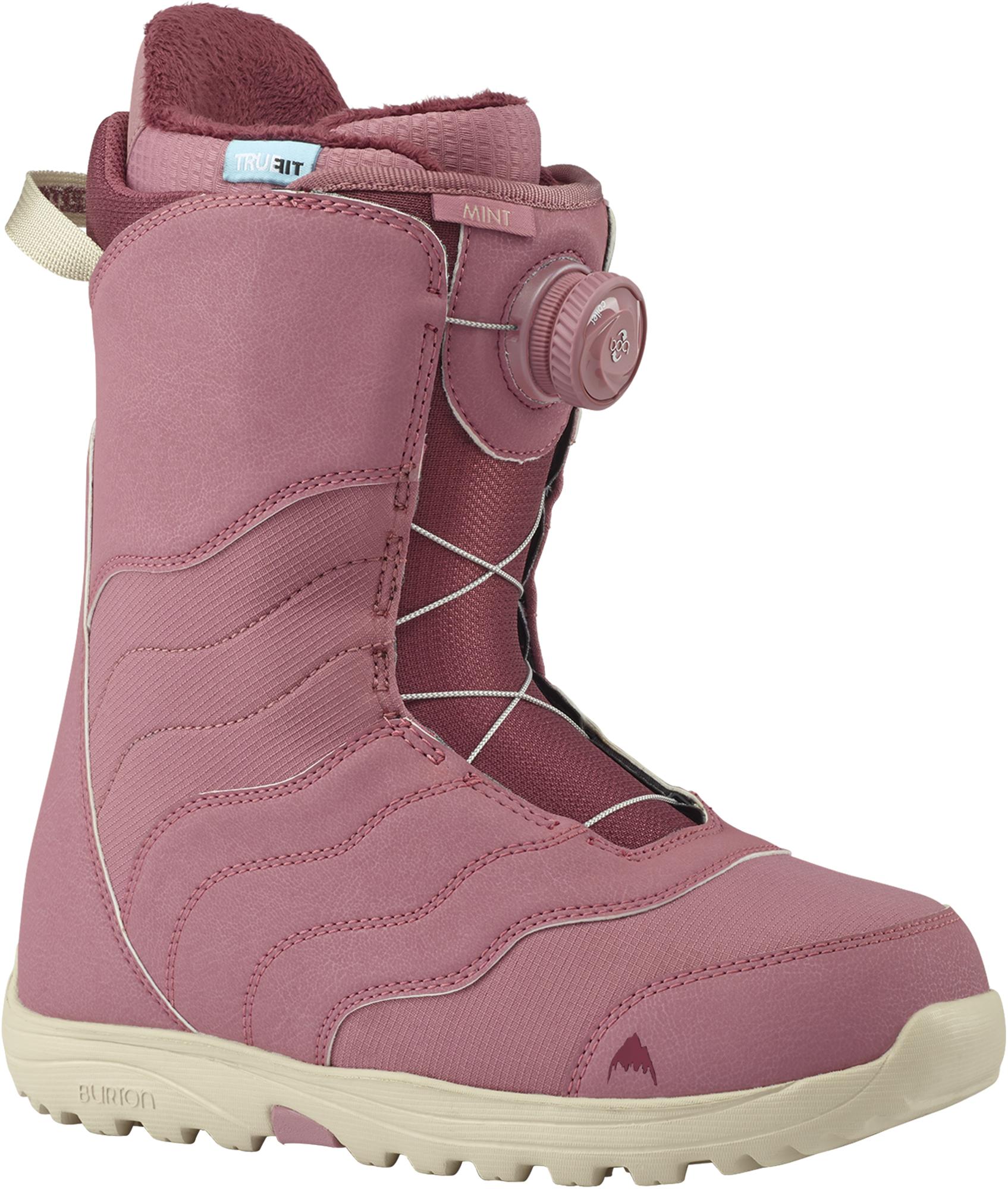 Burton Сноубордические ботинки женские Burton Mint Boa, размер 38,5 цены онлайн