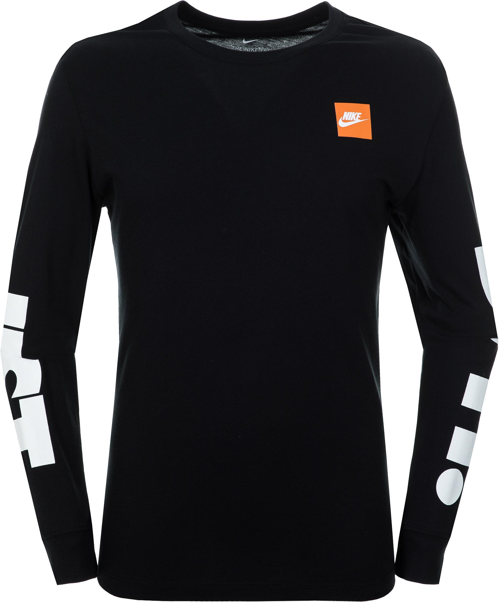 Nike Футболка с длинным рукавом мужская Nike Sportswear, размер 52-54