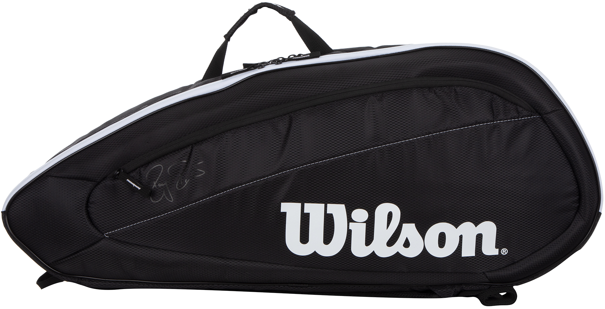 Wilson Сумка для 6 ракеток Wilson Fed Team 6 Pack виброгаситель wilson emotisorbs assorted pack смайлик