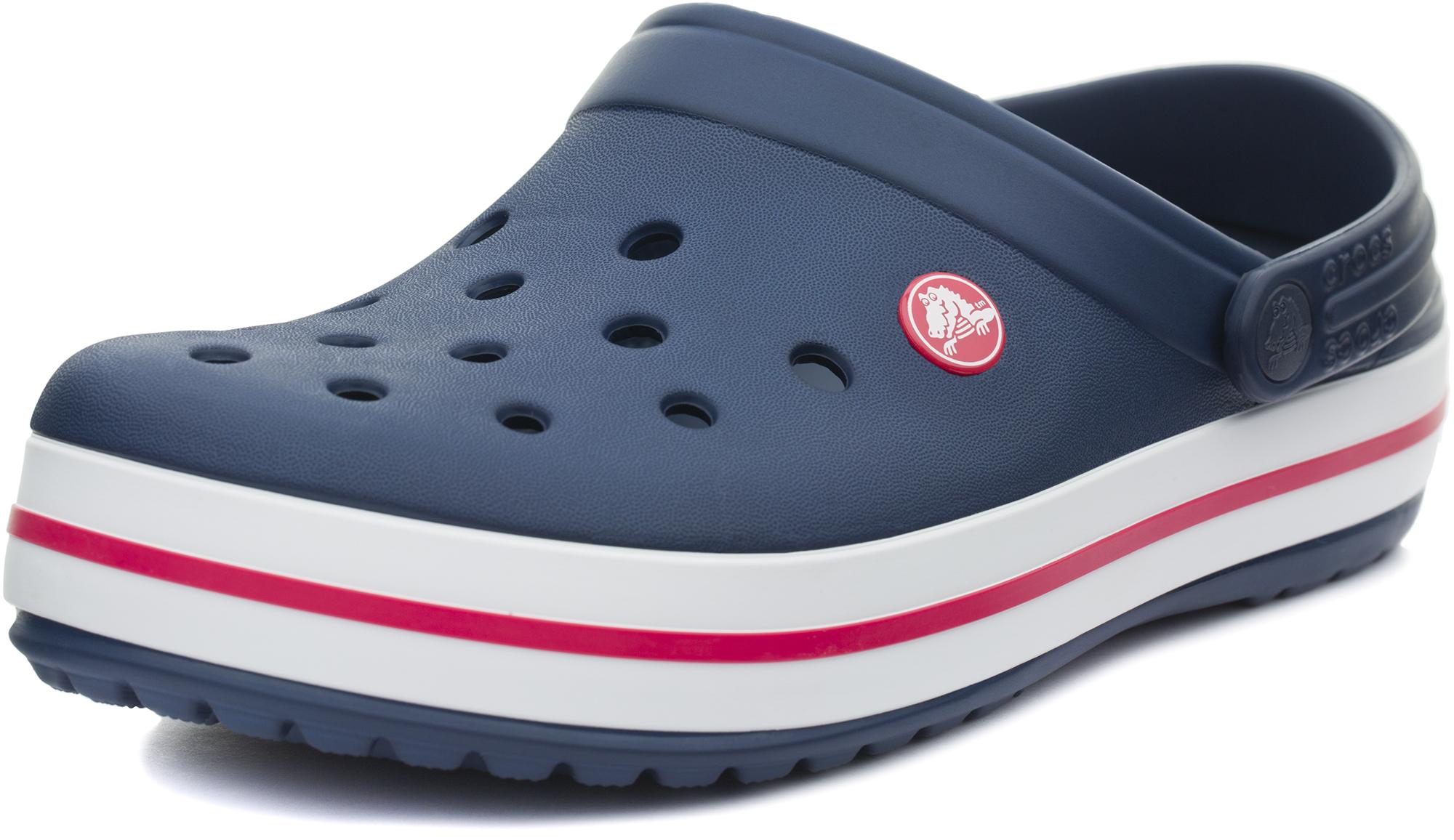 цена Crocs Шлепанцы Crocs Crocband, размер 39-40 онлайн в 2017 году