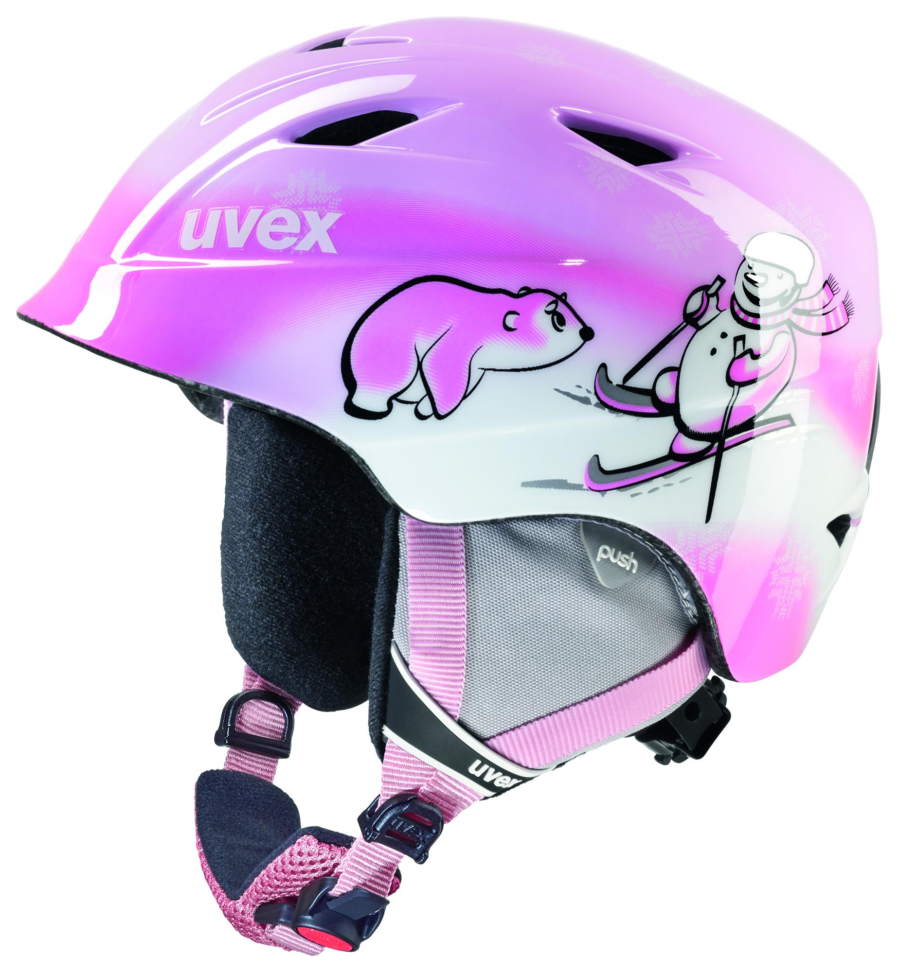 Uvex Шлем детский Uvex Airwing 2, размер 48-52