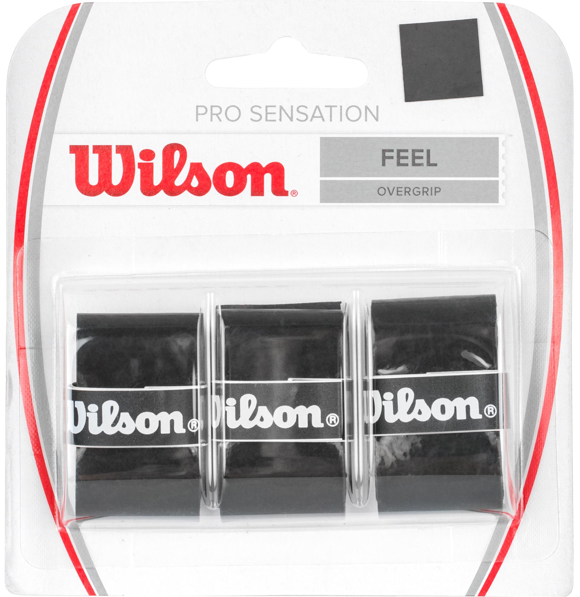Wilson Намотка Wilson Pro Overgrip Sensation wilson намотка базовая wilson cushion pro repl grip bk