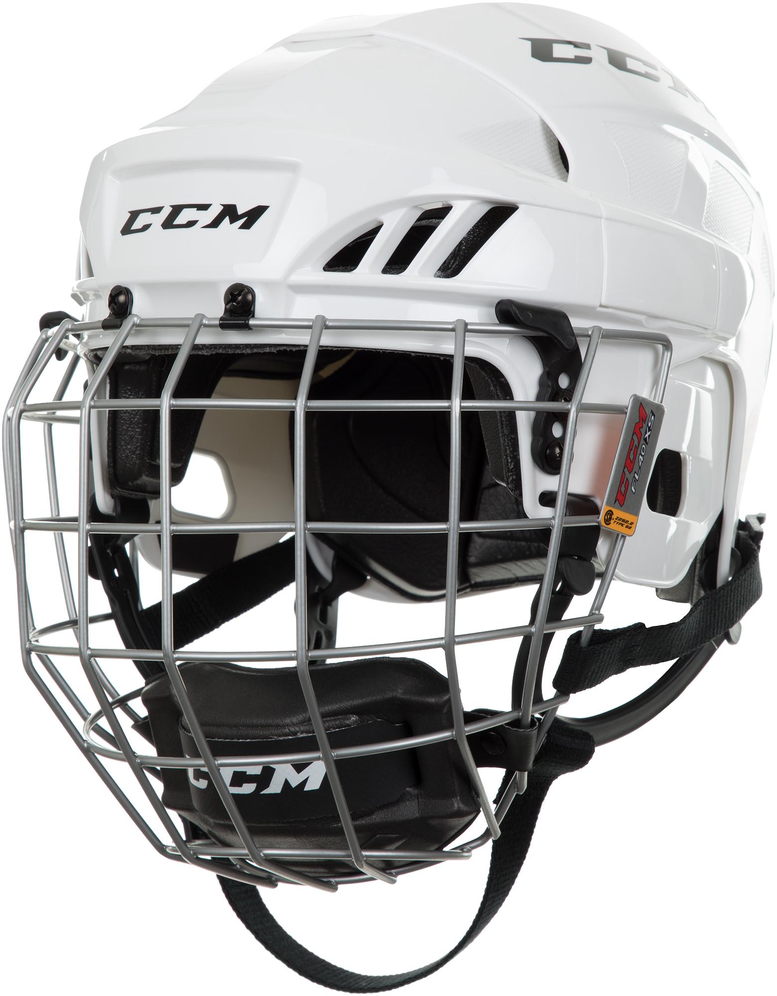 CCM Шлем хоккейный детский CCM HTC FITLITE 40, размер 48-53 ccm шлем хоккейный ccm tacks 310
