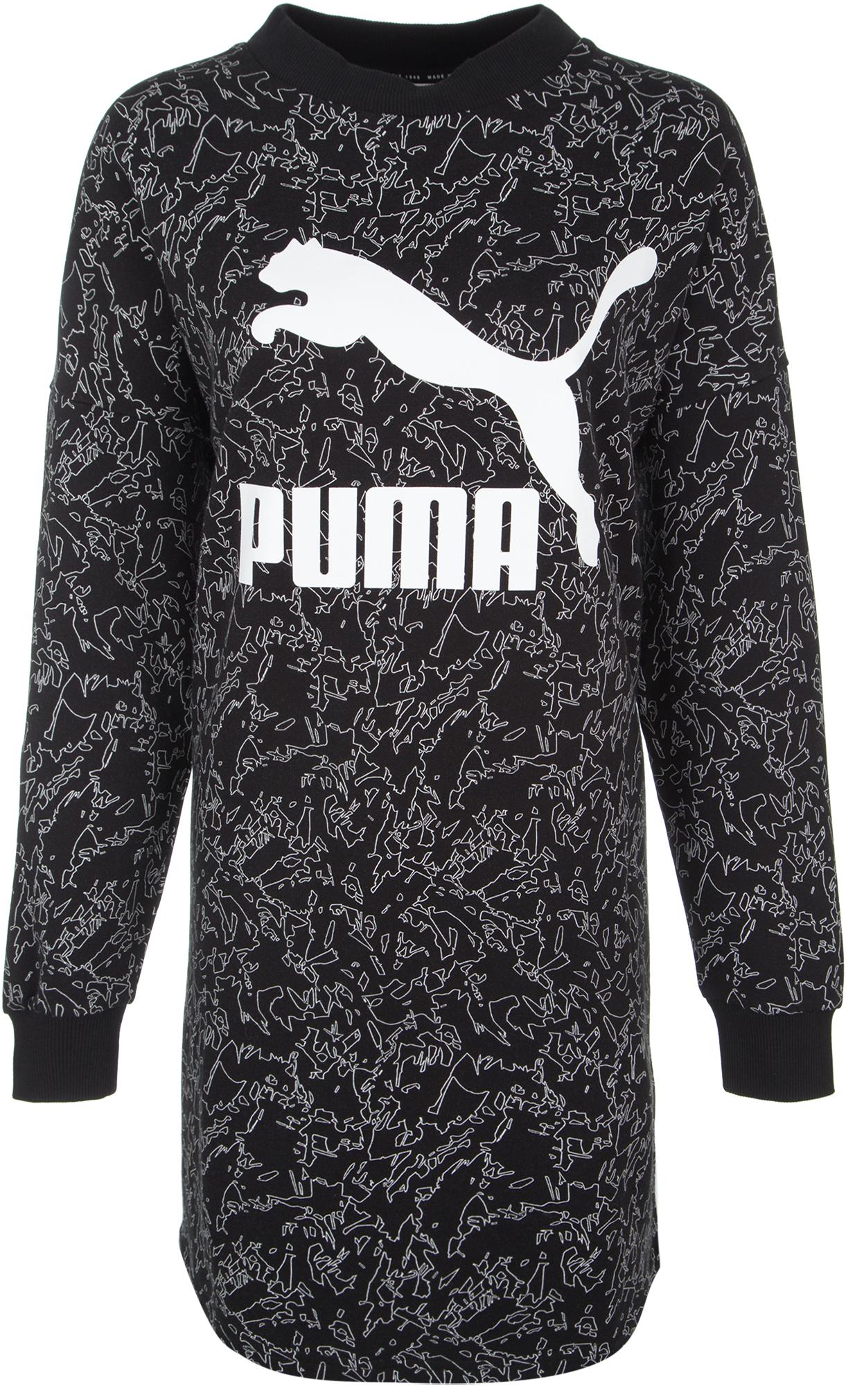 Puma Платье женское Puma Classic, размер 46-48 женское платье quality of national splendor zs14l1155 2015