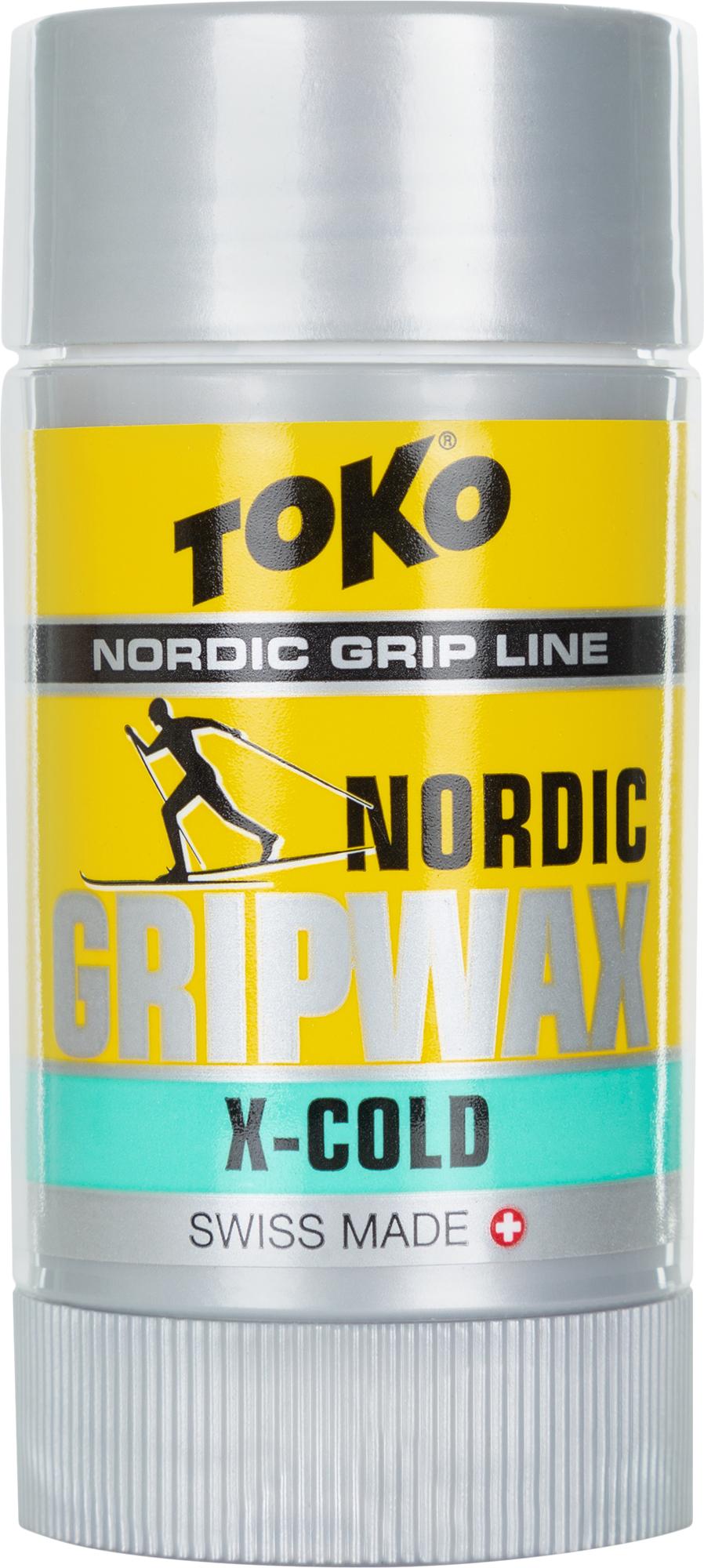 где купить TOKO Мазь для лыж TOKO Nordic GripWax X-Cold дешево