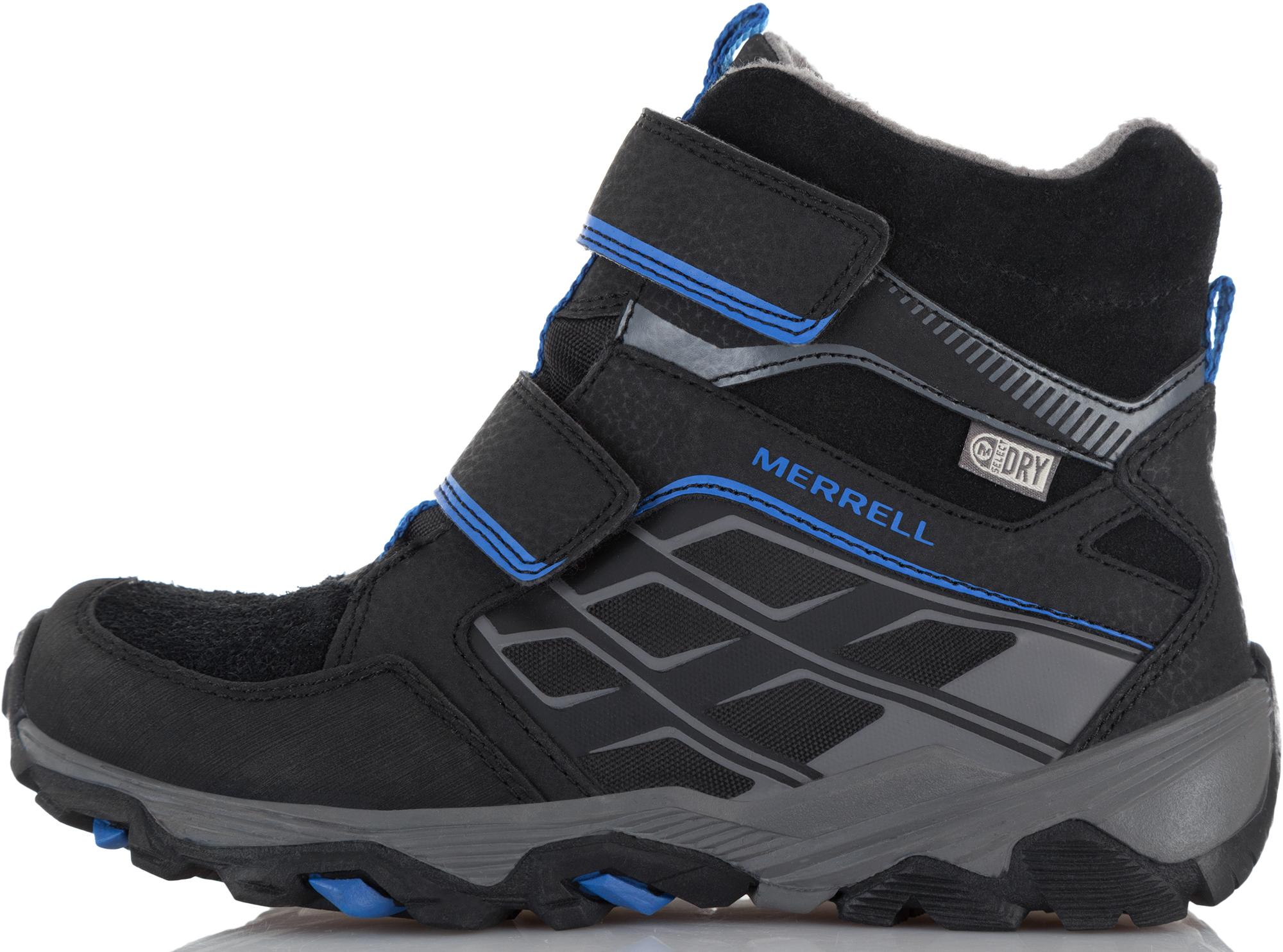 купить Merrell Ботинки утепленные для мальчиков Merrell Moab, размер 31,5 онлайн