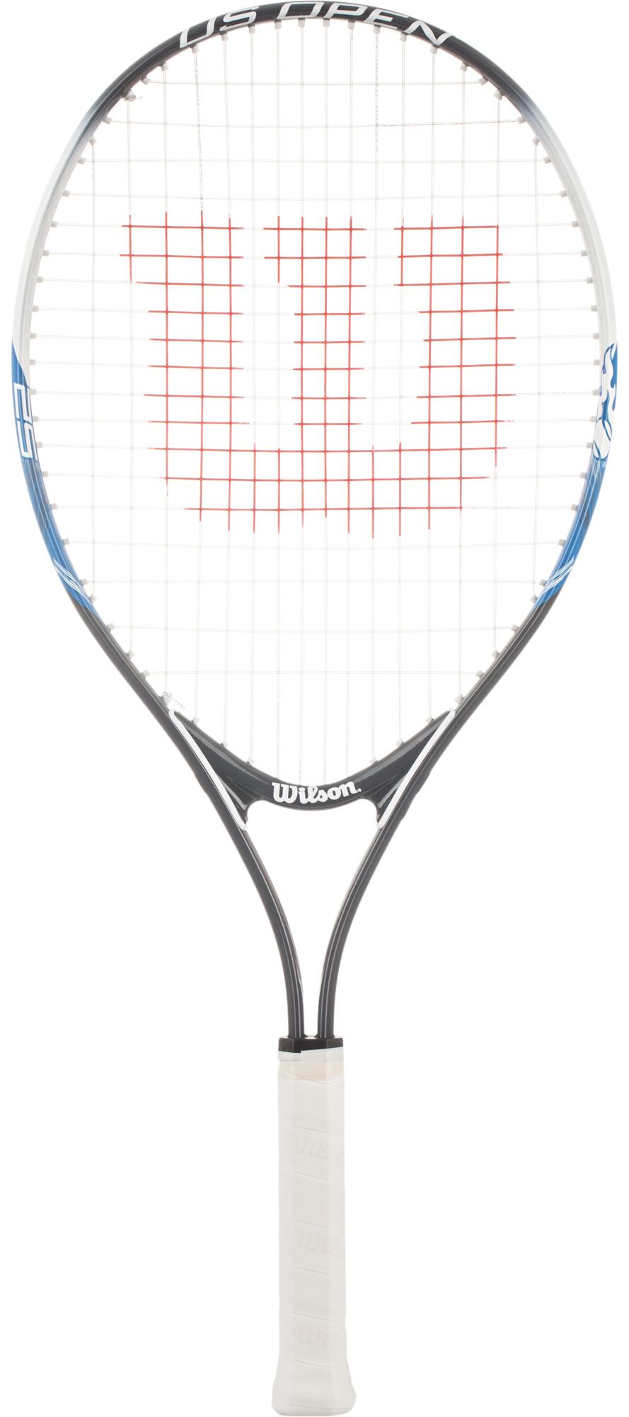 Wilson Ракетка для большого тенниса детская Wilson US Open 25 wilson набор мячей для большого тенниса wilson australian open 3 ball can размер без размера