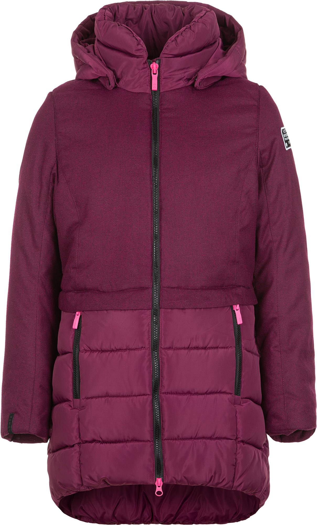 Luhta Куртка утепленная для девочек Luhta Lempinen, размер 158 куртка утепленная luhta luhta lu692ewcovk3