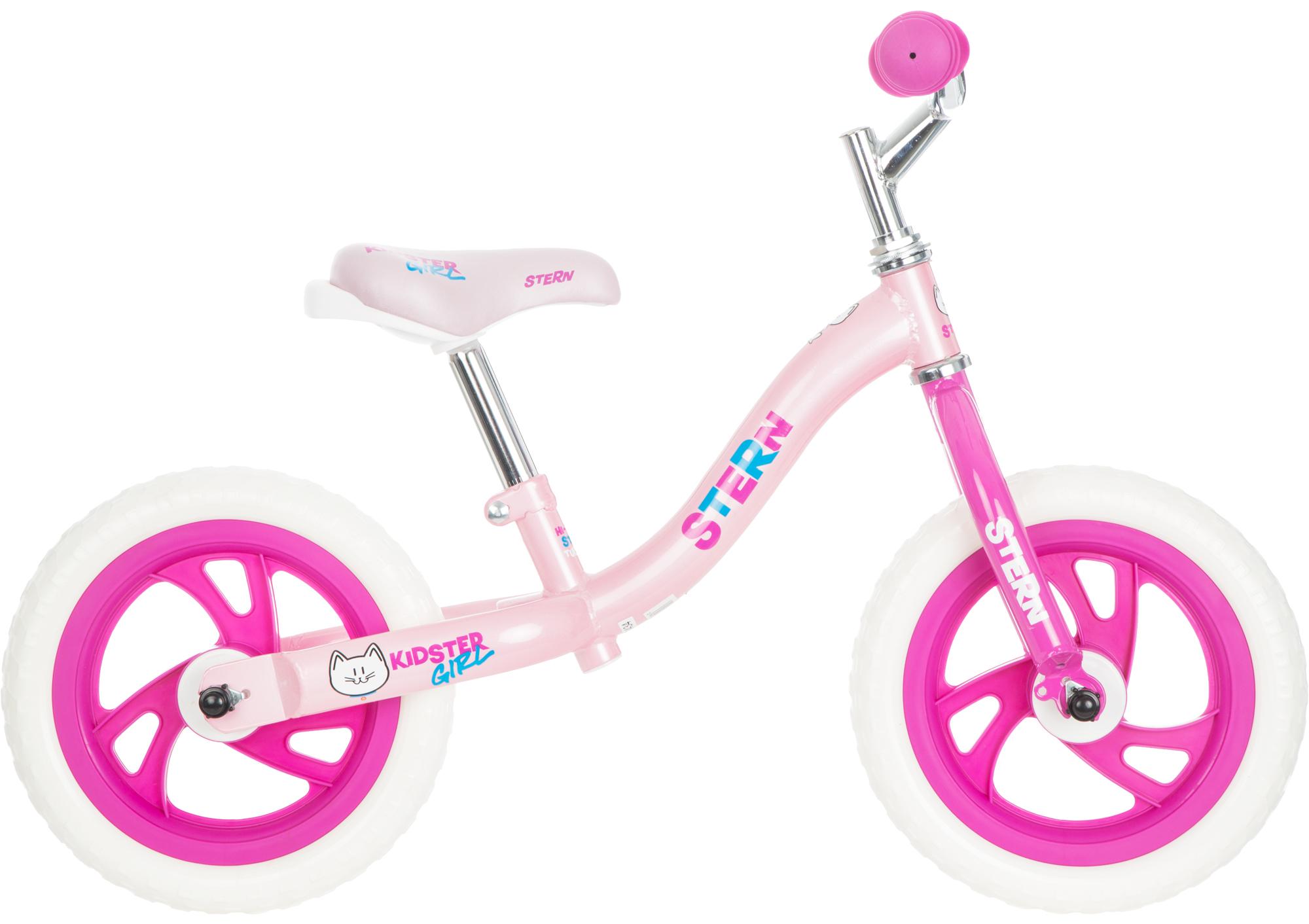 Stern Беговел детский для девочек Stern Kidster Girl 12 беговел bradex беговел с колесом в виде мяча велоболл