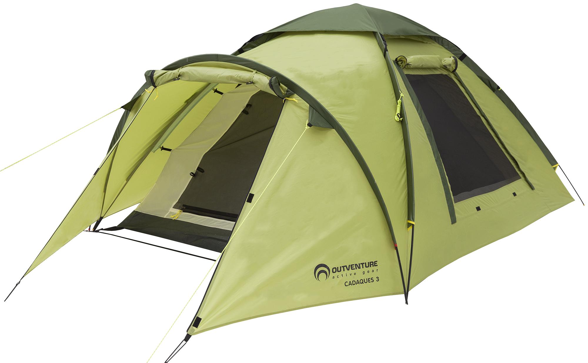 Outventure Outventure Cadaques 3 палатка трехместная campack tent breeze explorer 3